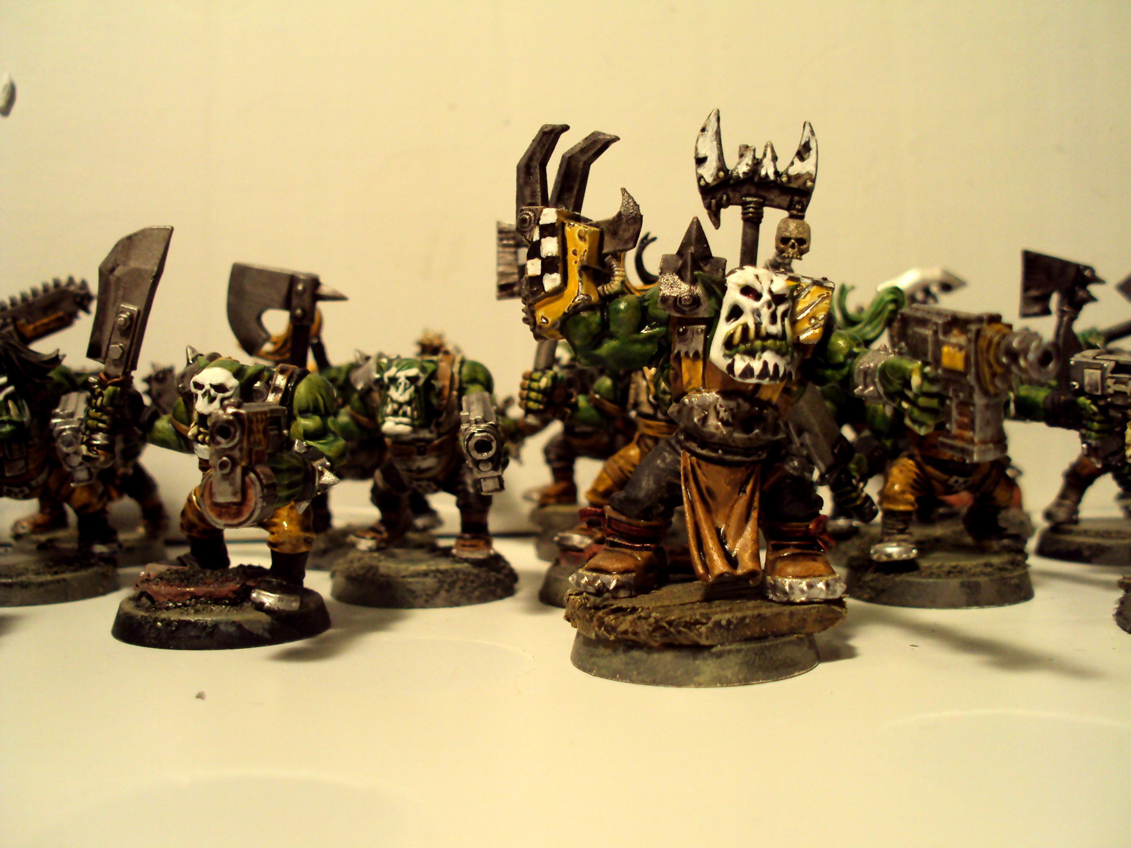 Bad Moons, Orks, Voodoo, Yellow Orks