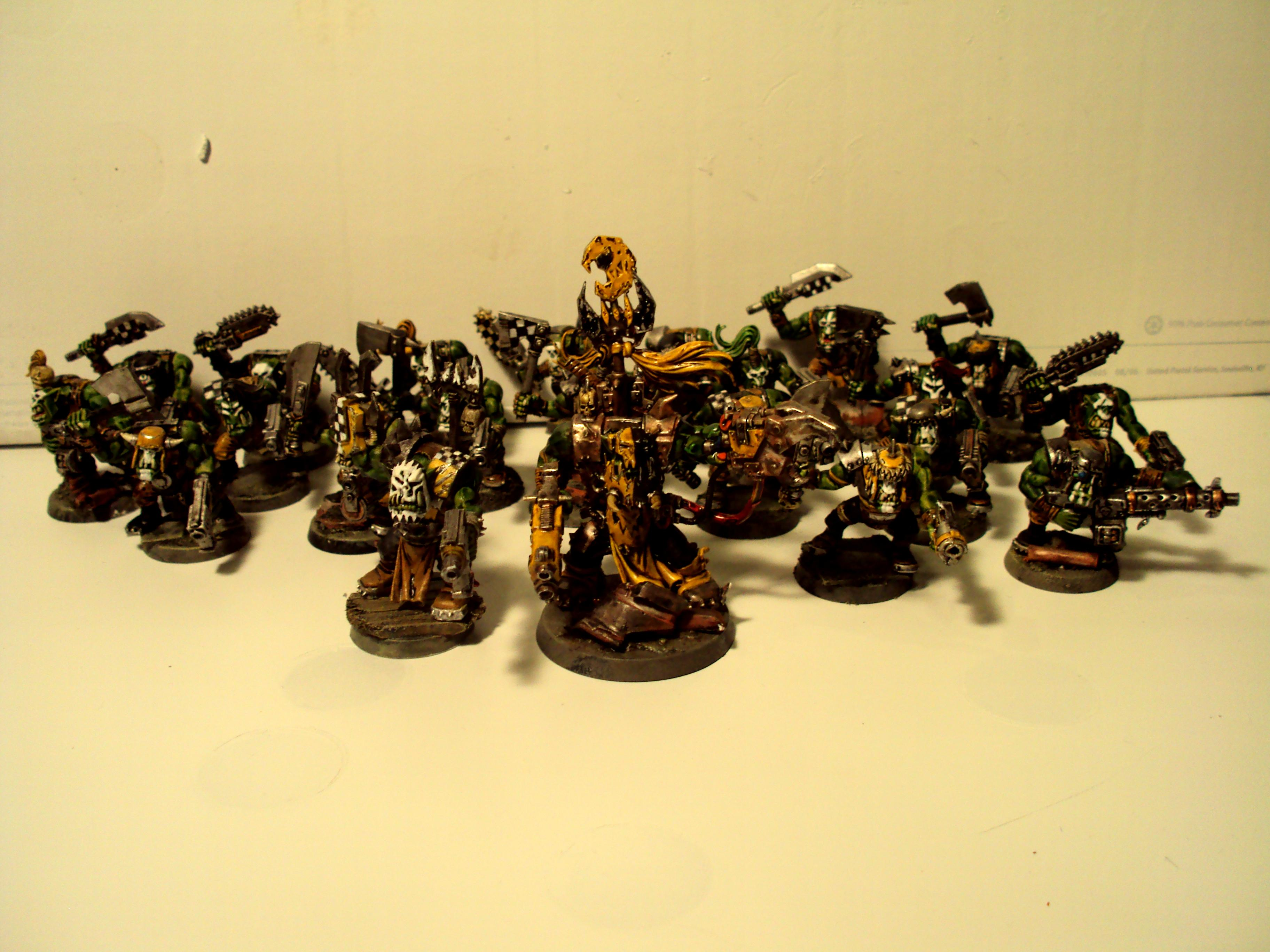 Army, Bad Moons, Orks, Yellow Orks