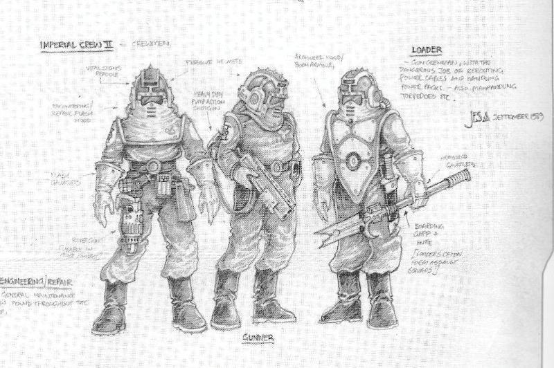 Crew, Imperila Navy . Concept Art, Jes Goodwin