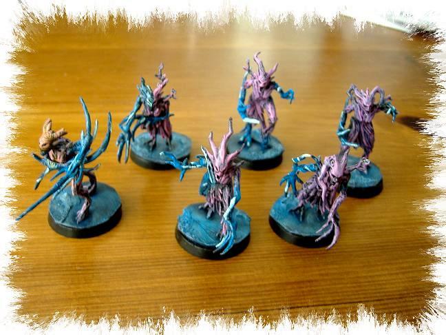 Pink Horrors, Thousand Sons, Tzeentch