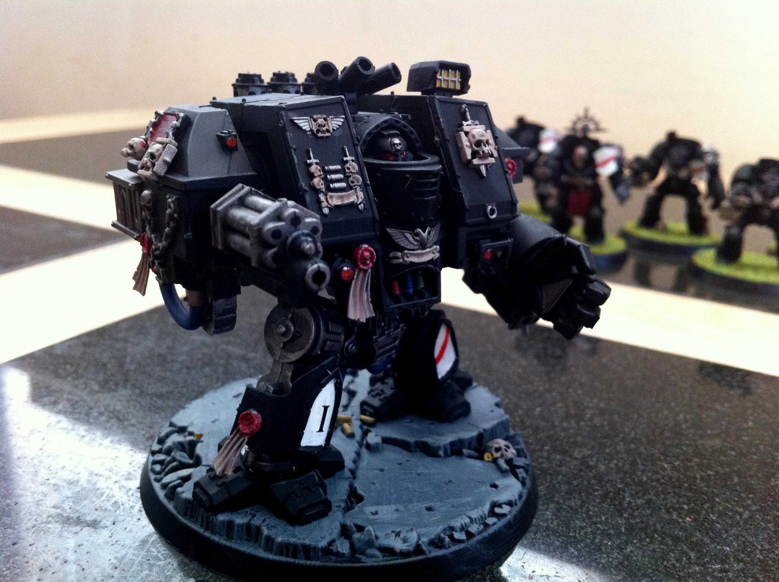 Adeptus Astartes, Black Templars, Space Marines, Venerable Dreadnought, Warhammer 40,000
