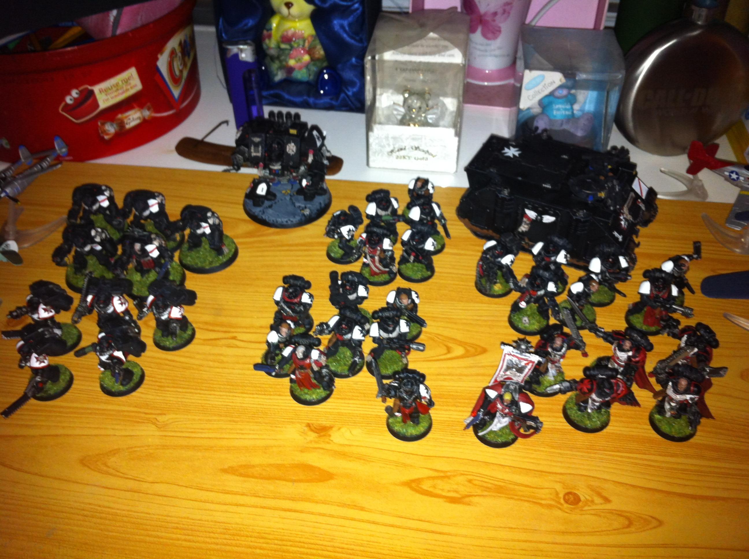 Black Templars, Black templars so far