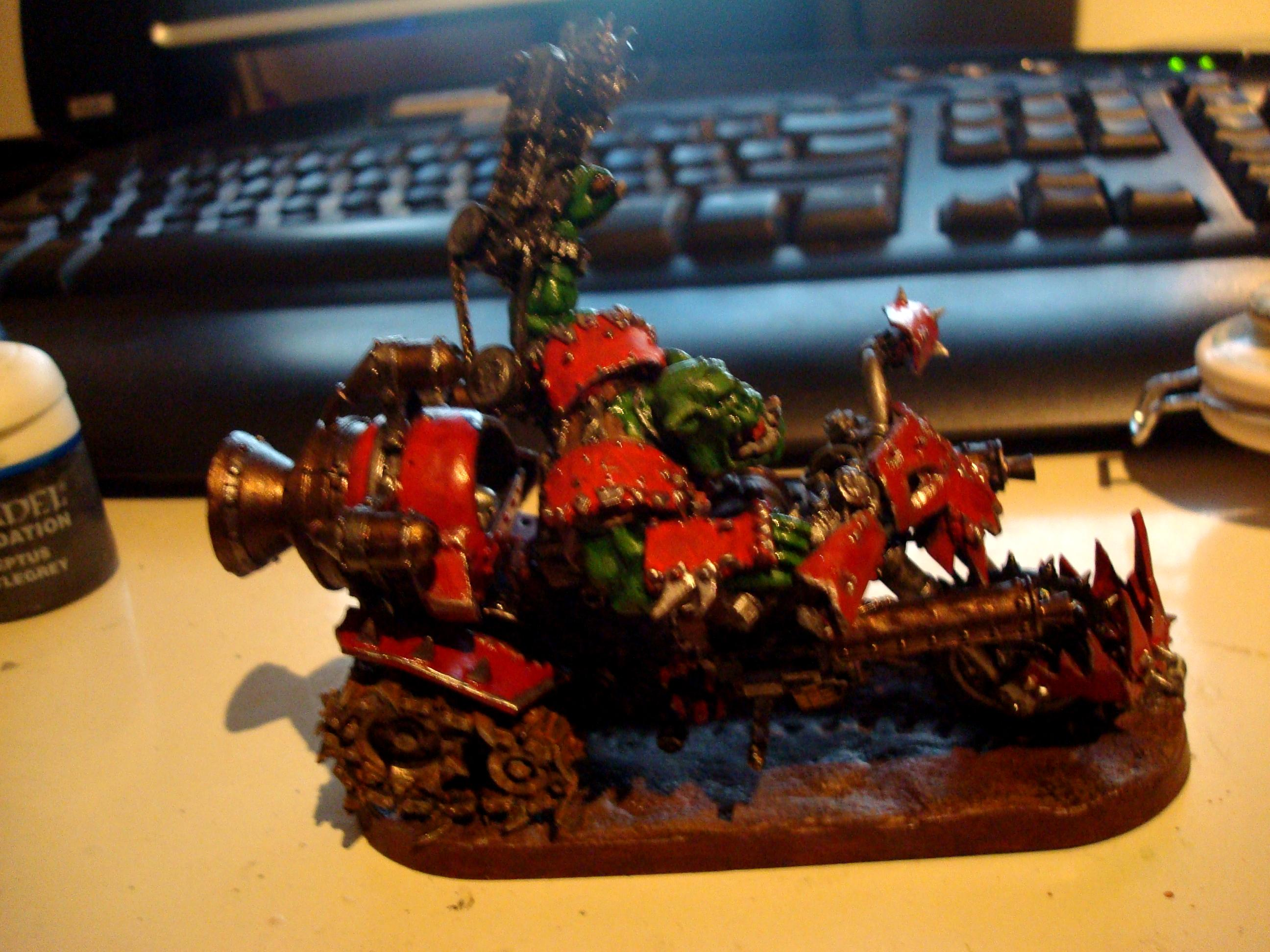 Bike, Forge World, Orks, Warbike, Warboss