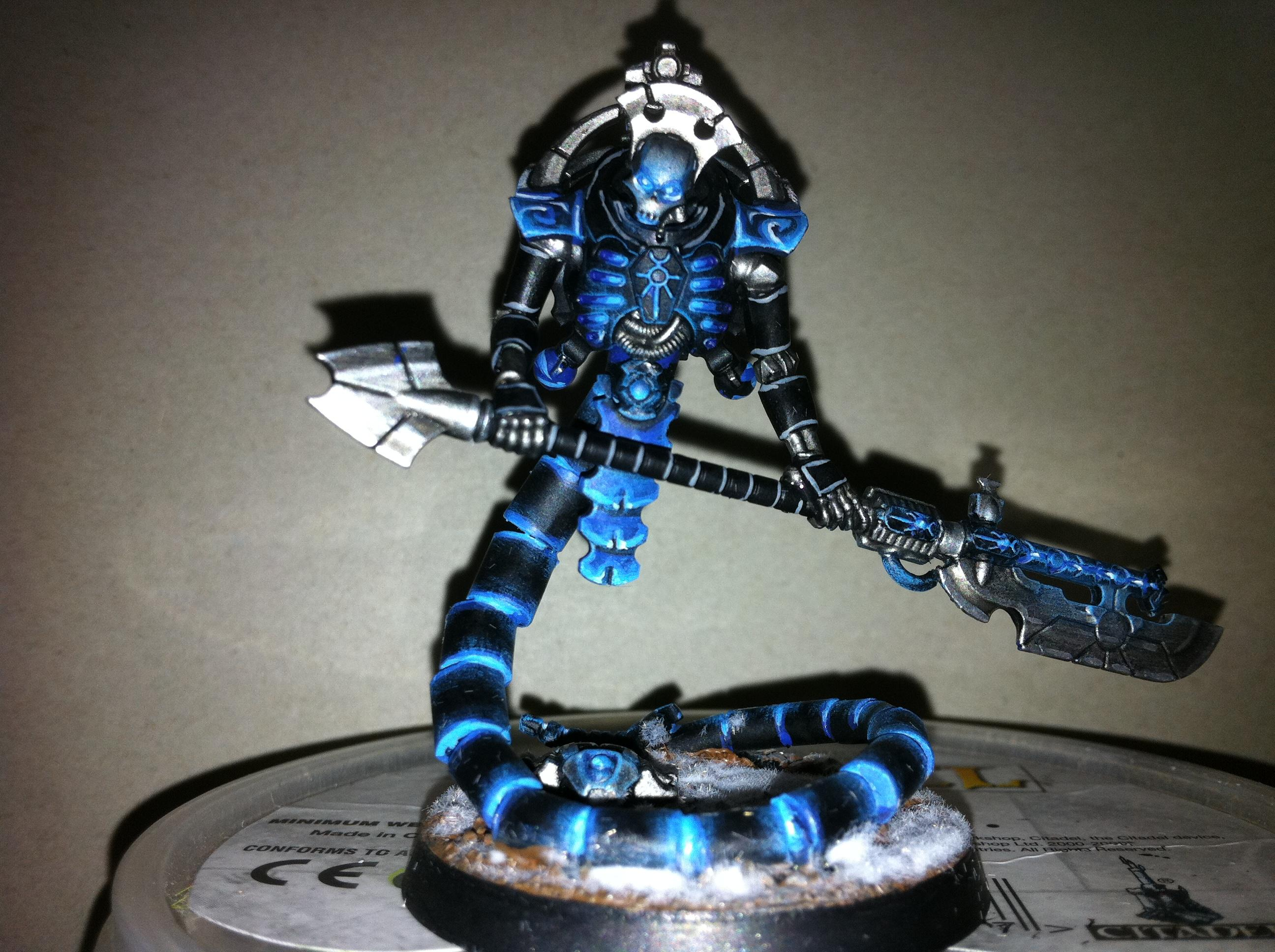 Conversion, Necrons, Object Source Lighting, Wraith