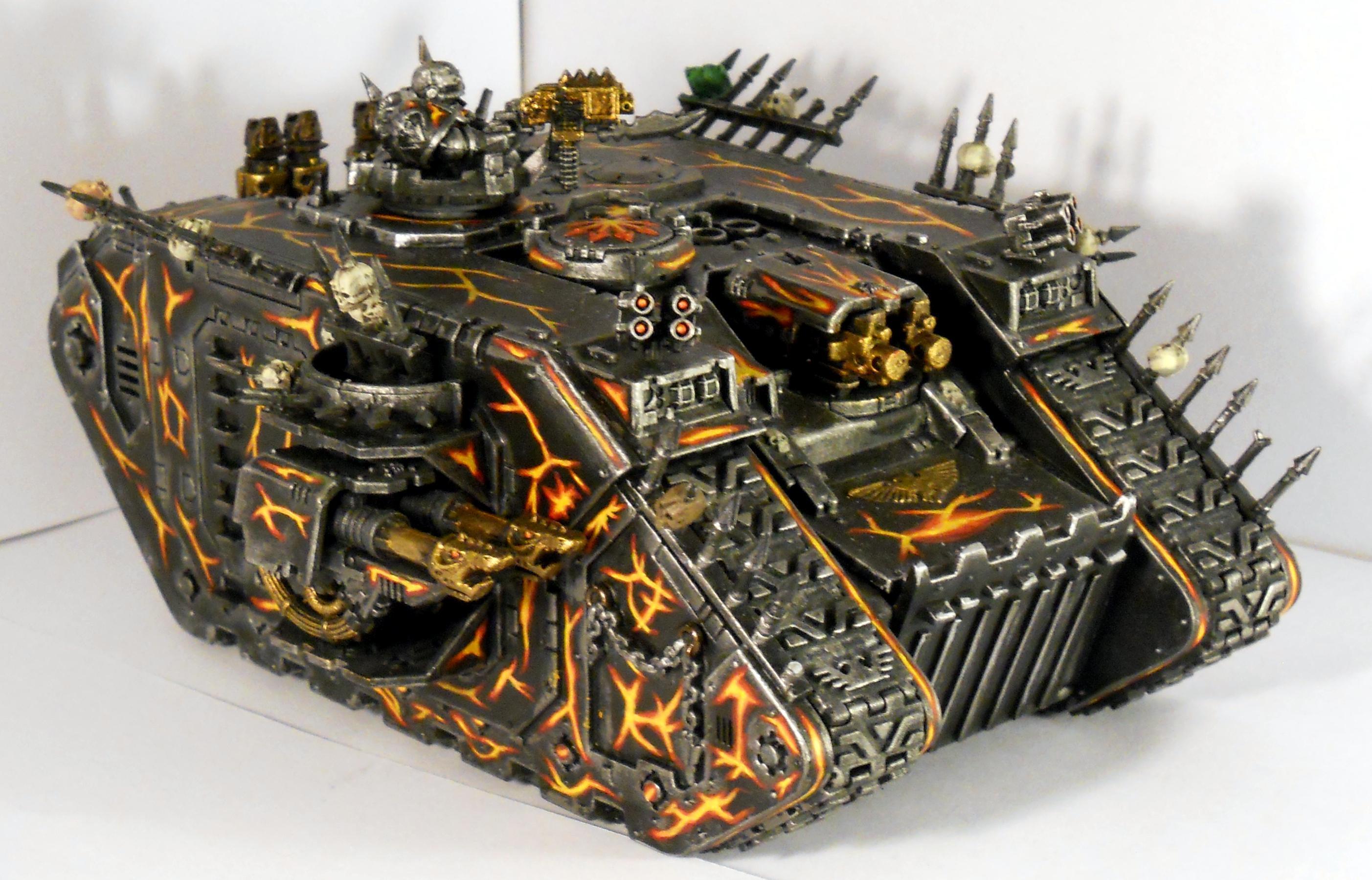 Chaos Land Raider, Chaos Space Marines, Land Raider