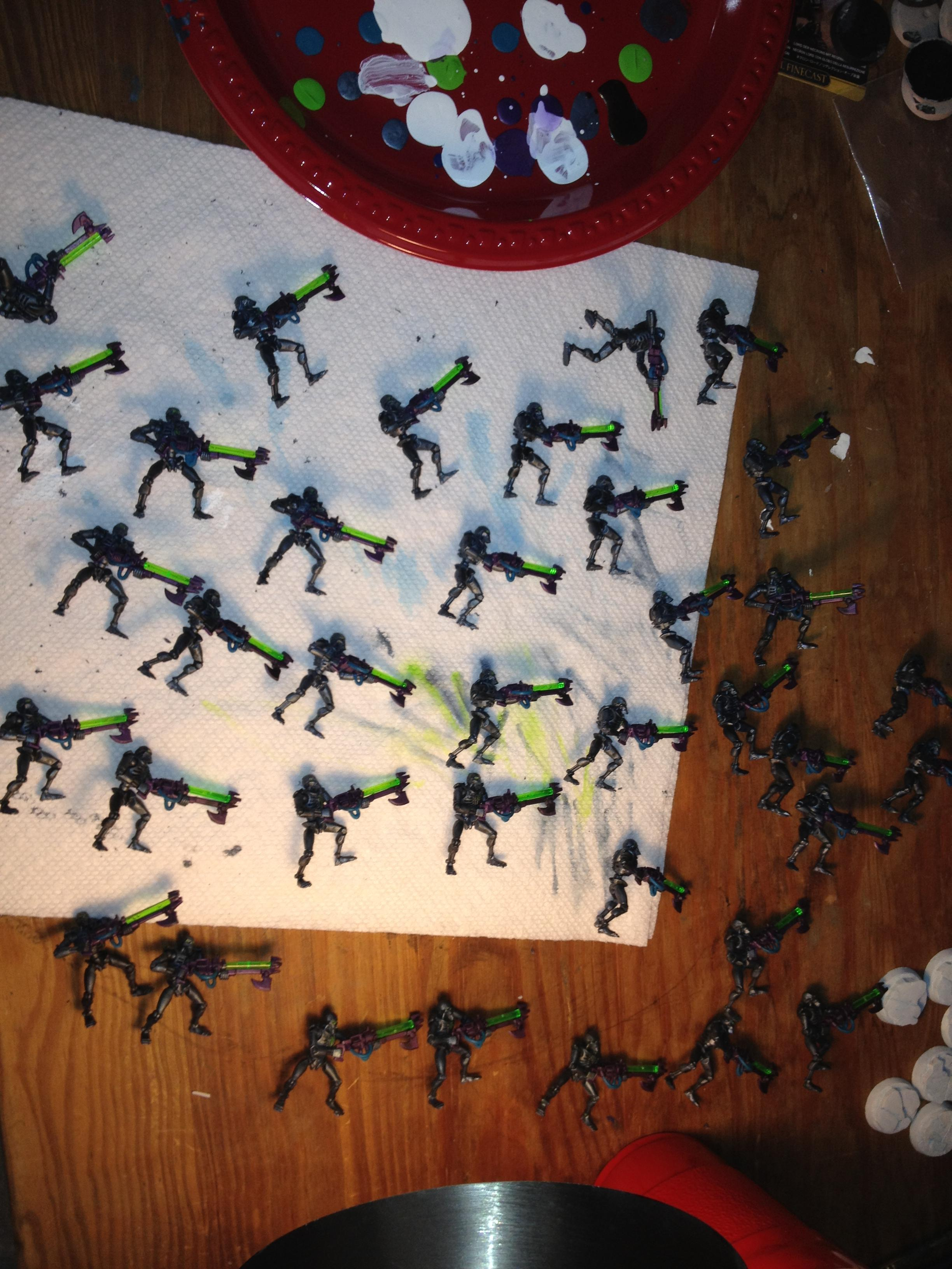 Warriors ready for bases