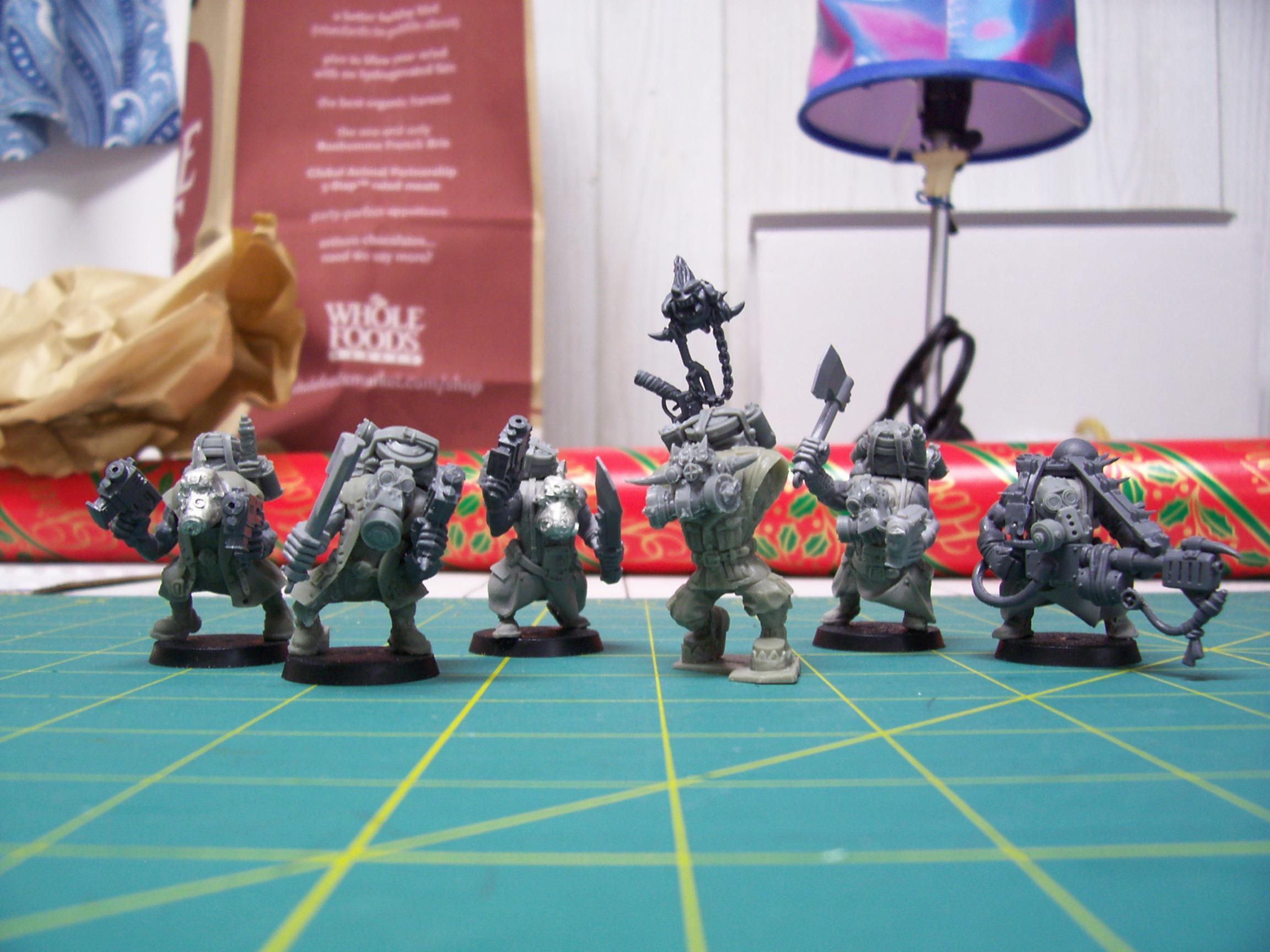 Burna Boyz, Christmas, Conversion, Gift, Kommando, Orks
