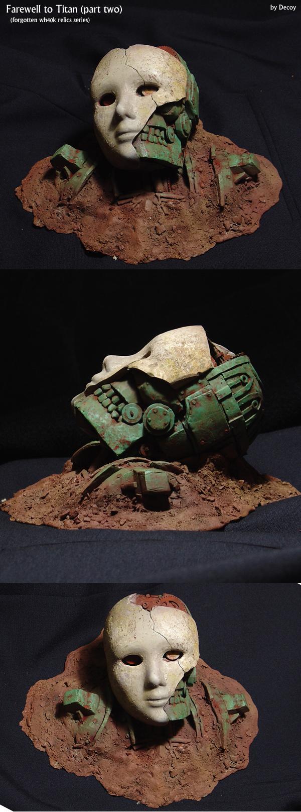 Artifact, Head, Scifi, Skull, Steampunk, Titan, Warhammer Fantasy, Warmachine