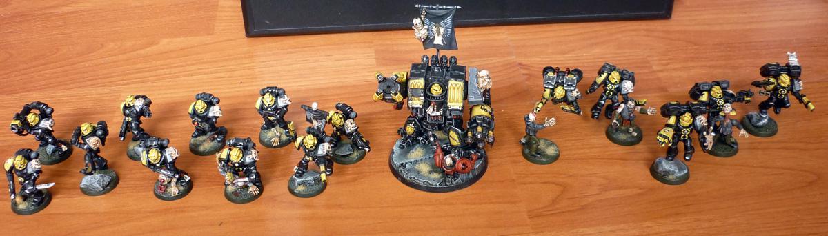 Chaos Space Marines, Heretics, Warhammer 40,000