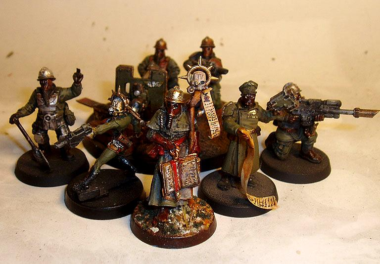 Custom, Imperial Guard, Kit Bashed, Medic, Priest, Renegade, Shovel, Snipers