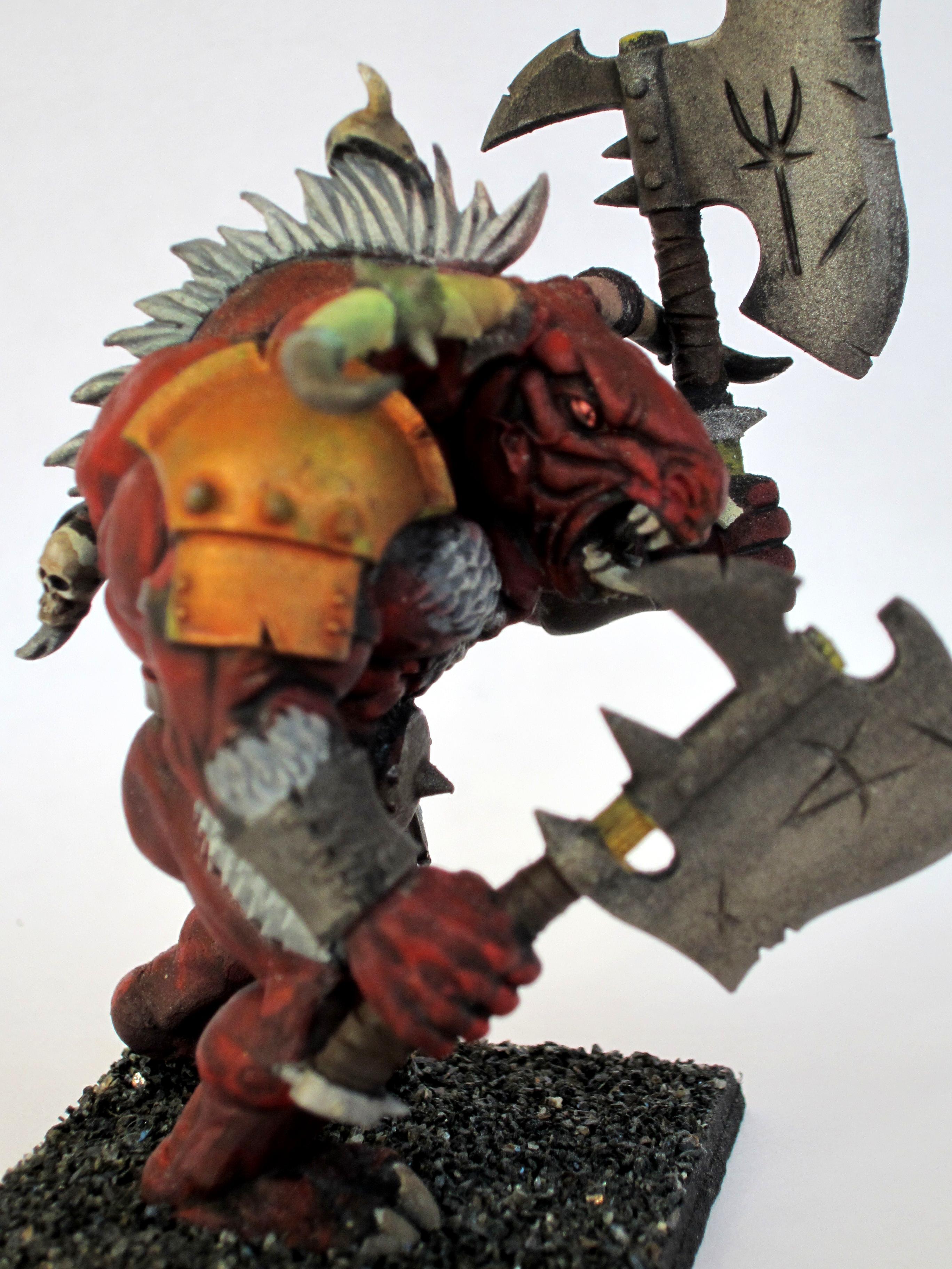 Beastmen, Daemons, Red