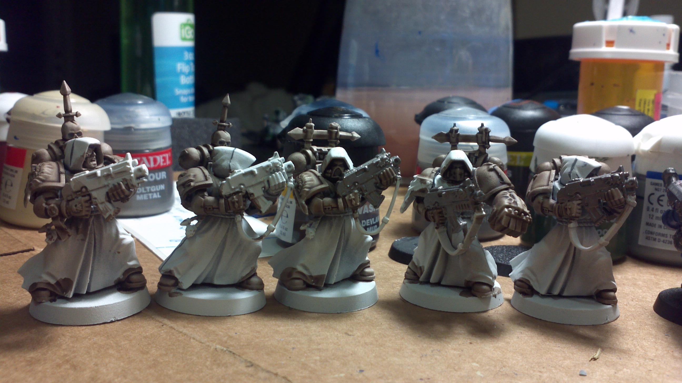 Another group of Sternguard also being worked on