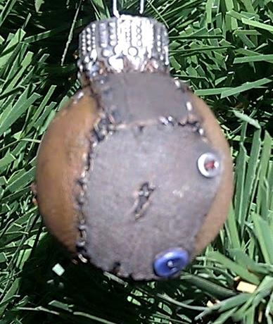 Bauble, Blurred Photo, Christmas, Scibor, Stitchpunk, Voodoo
