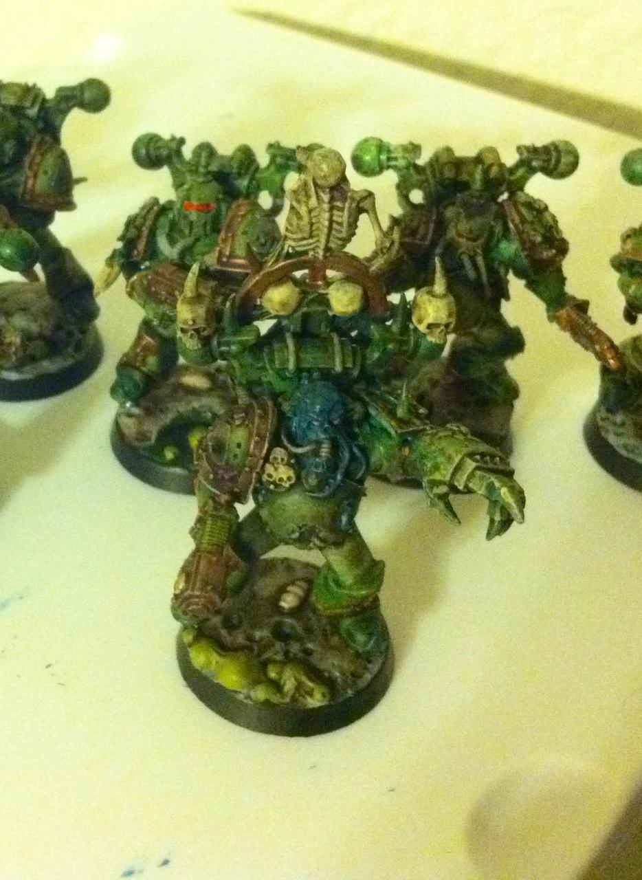 Plague Marine Champion with fist