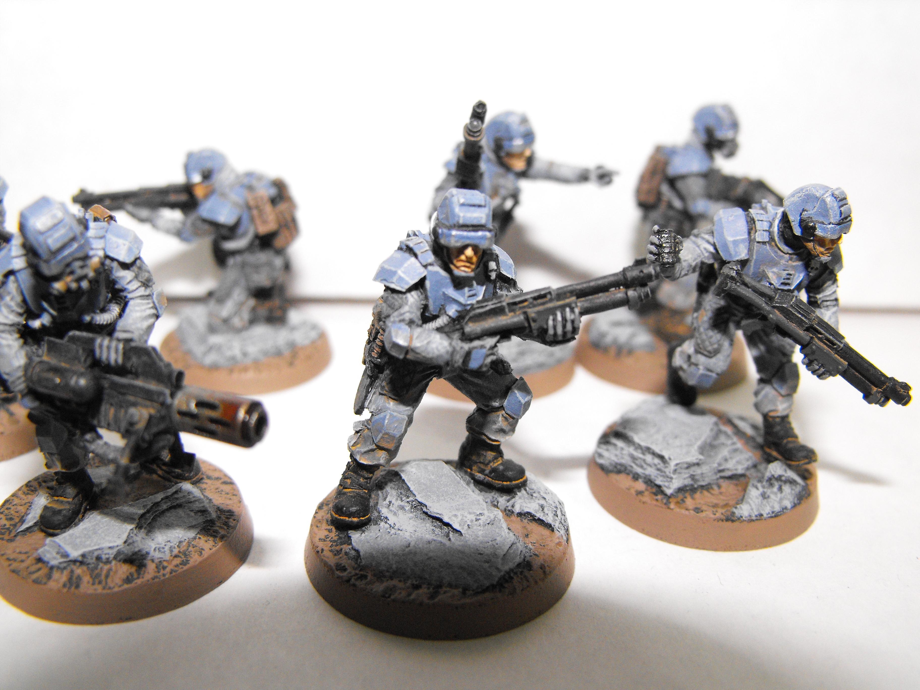 Elysians, Imperial Guard