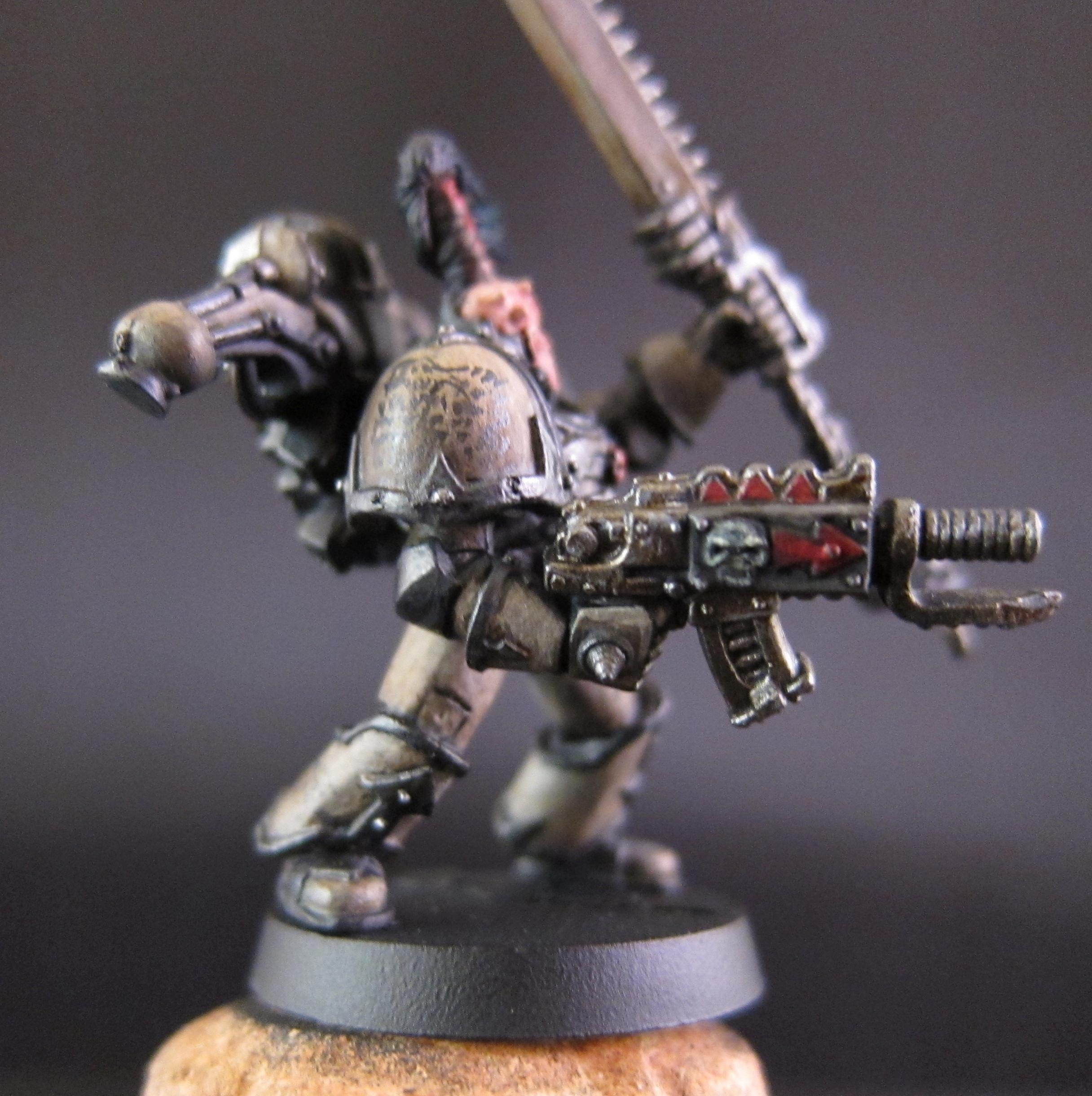 Chaos, Chaos Space Marines, Conversion, Lava, Undivided