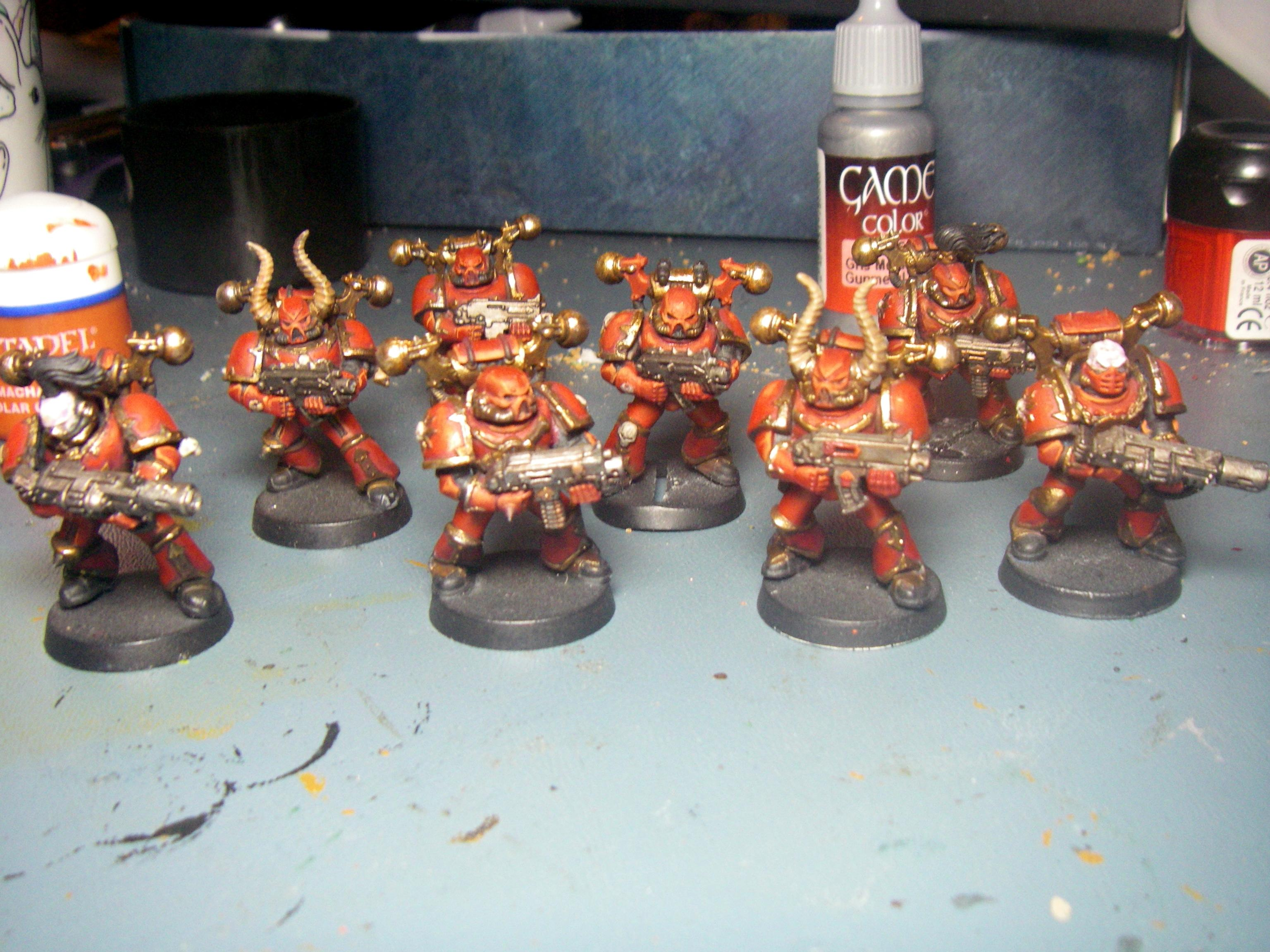 Chaso Space Marines, Chaos Marines
