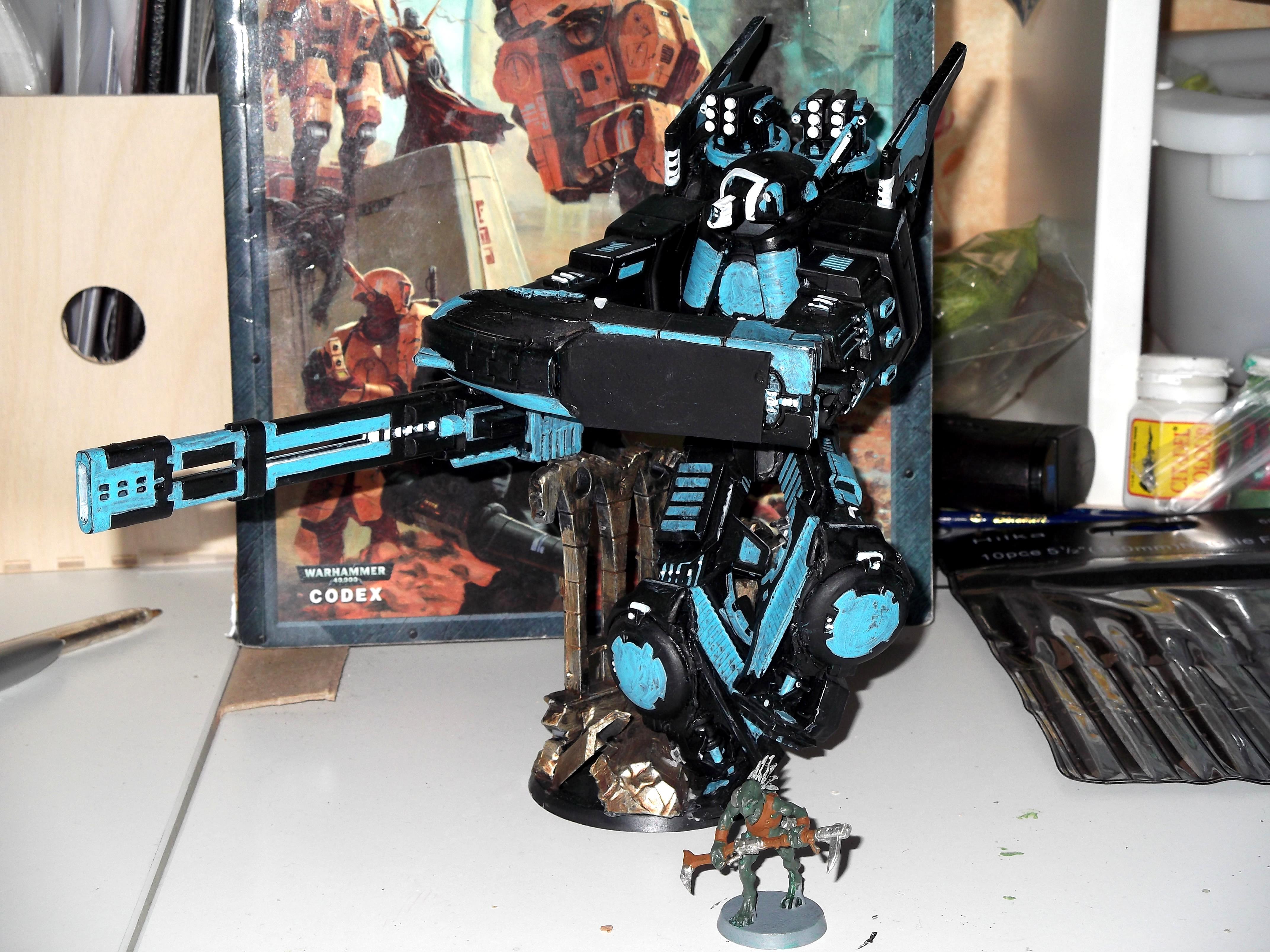 Battlesuit, Conversion, Hammerhead, Pirahna, Tau, Vallhemn, XV8