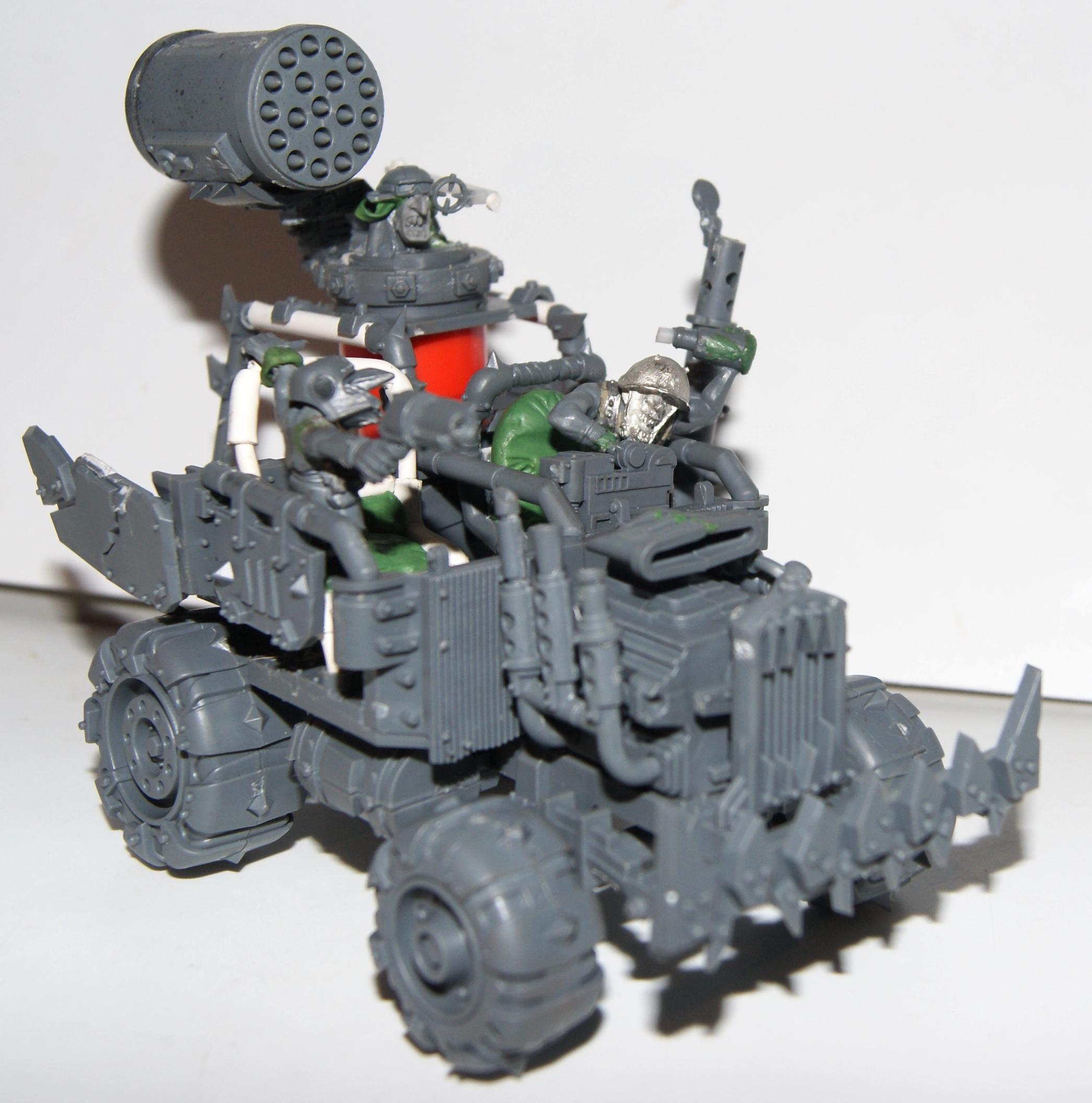 Buggy, Conversion, Grot Rebellion, Grot Rebels, Grots, Warhammer 40,000