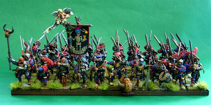 Empire, Giant, Greatswords, Human, Infantry, Painted, Warhammer Fantasy
