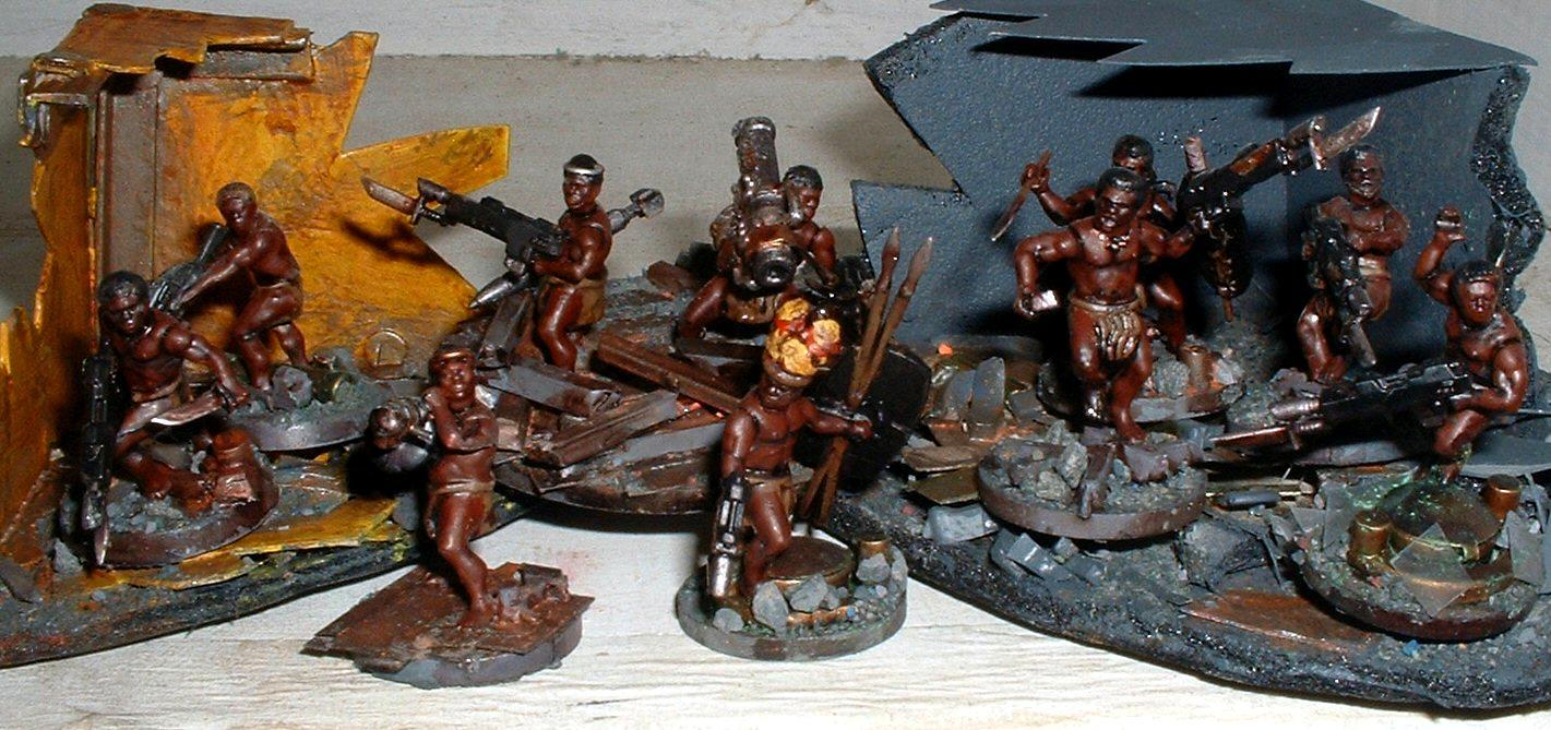 Imperial Guard, Wargames Factory, Warhammer 40,000, Zulus