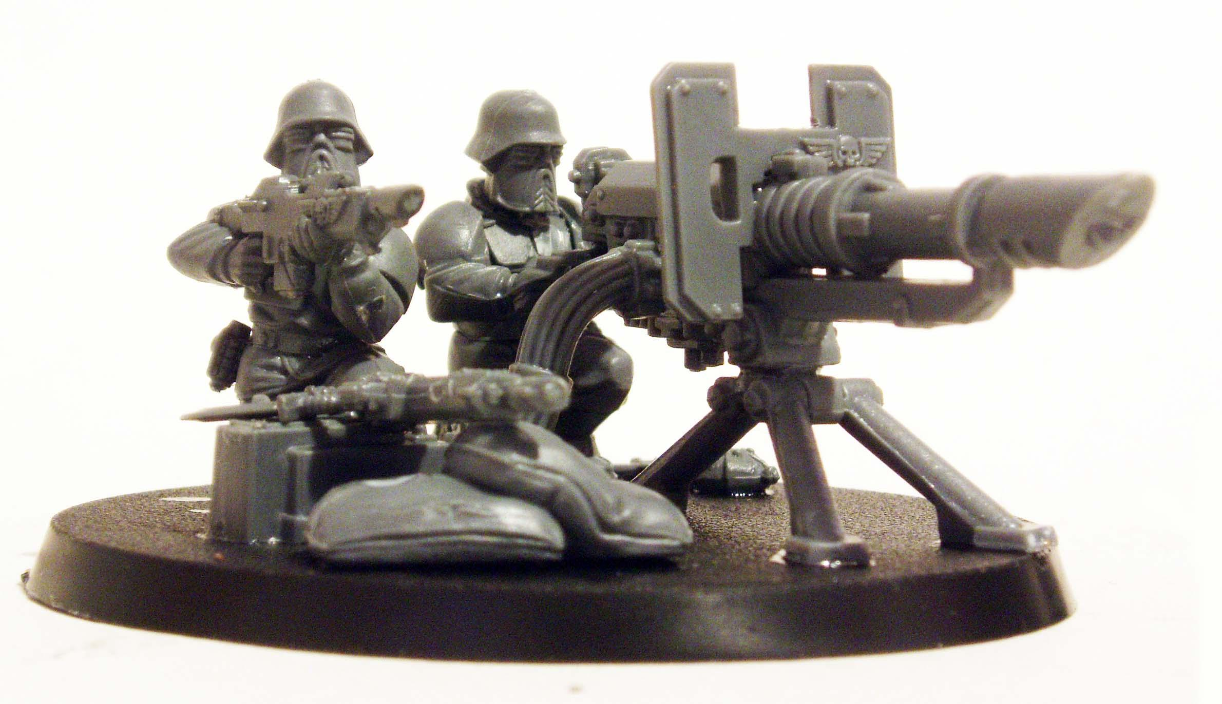 Greatcoat, Heavy Weapon, Imperial Guard, Wargames Factory