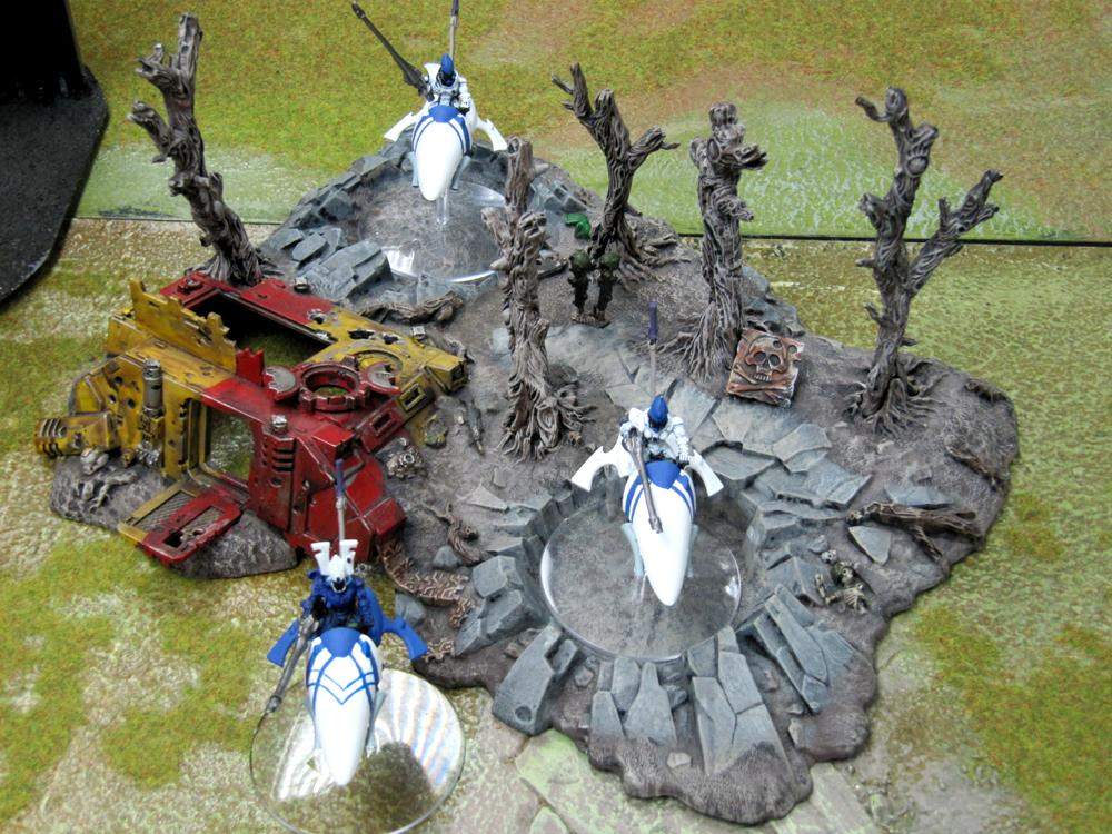 Aspect Warrior, Eldar, Jetbike, Shining Spears, Warhammer 40,000