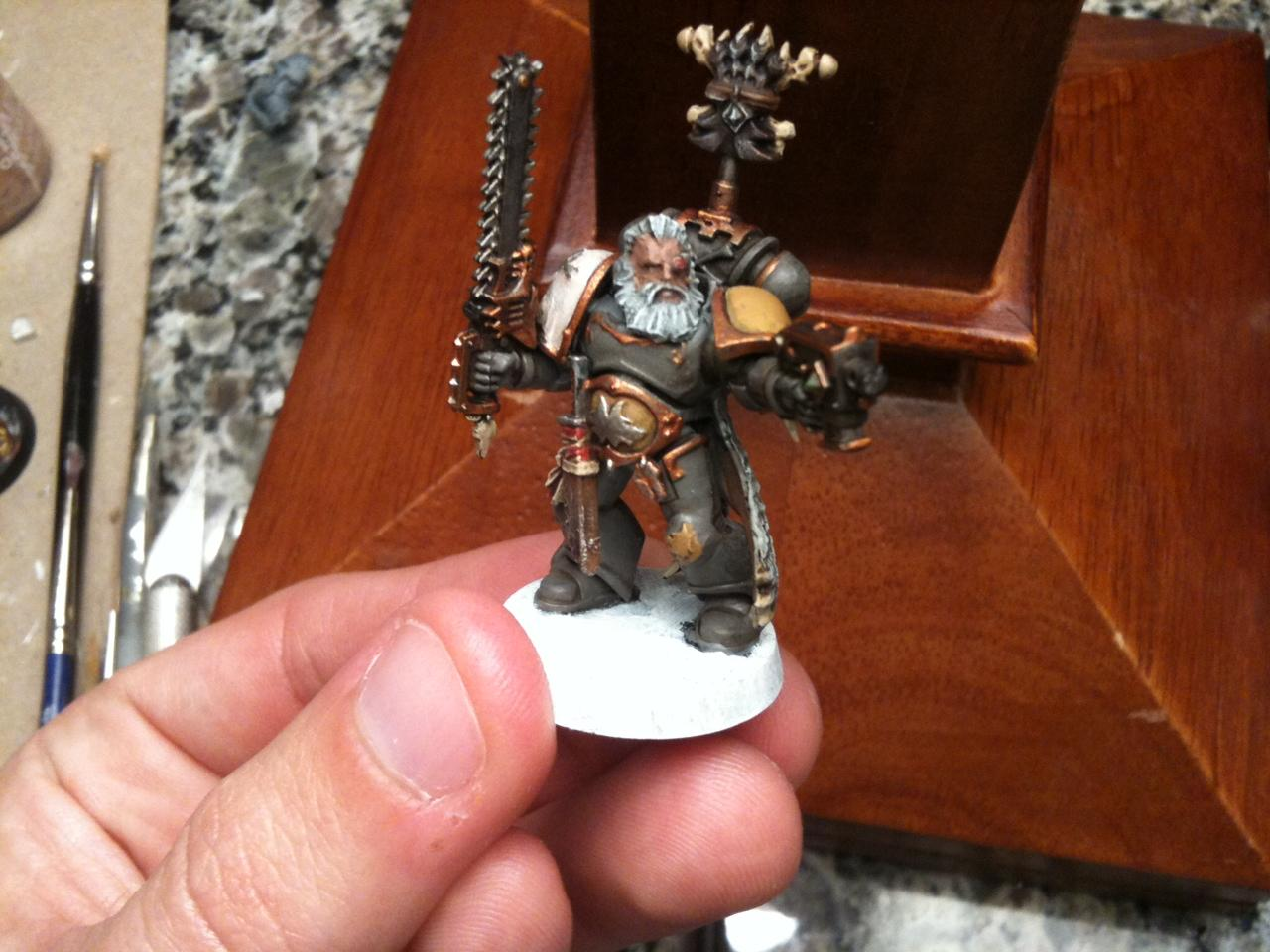Long Fang, Space Wolves, Squad Leader