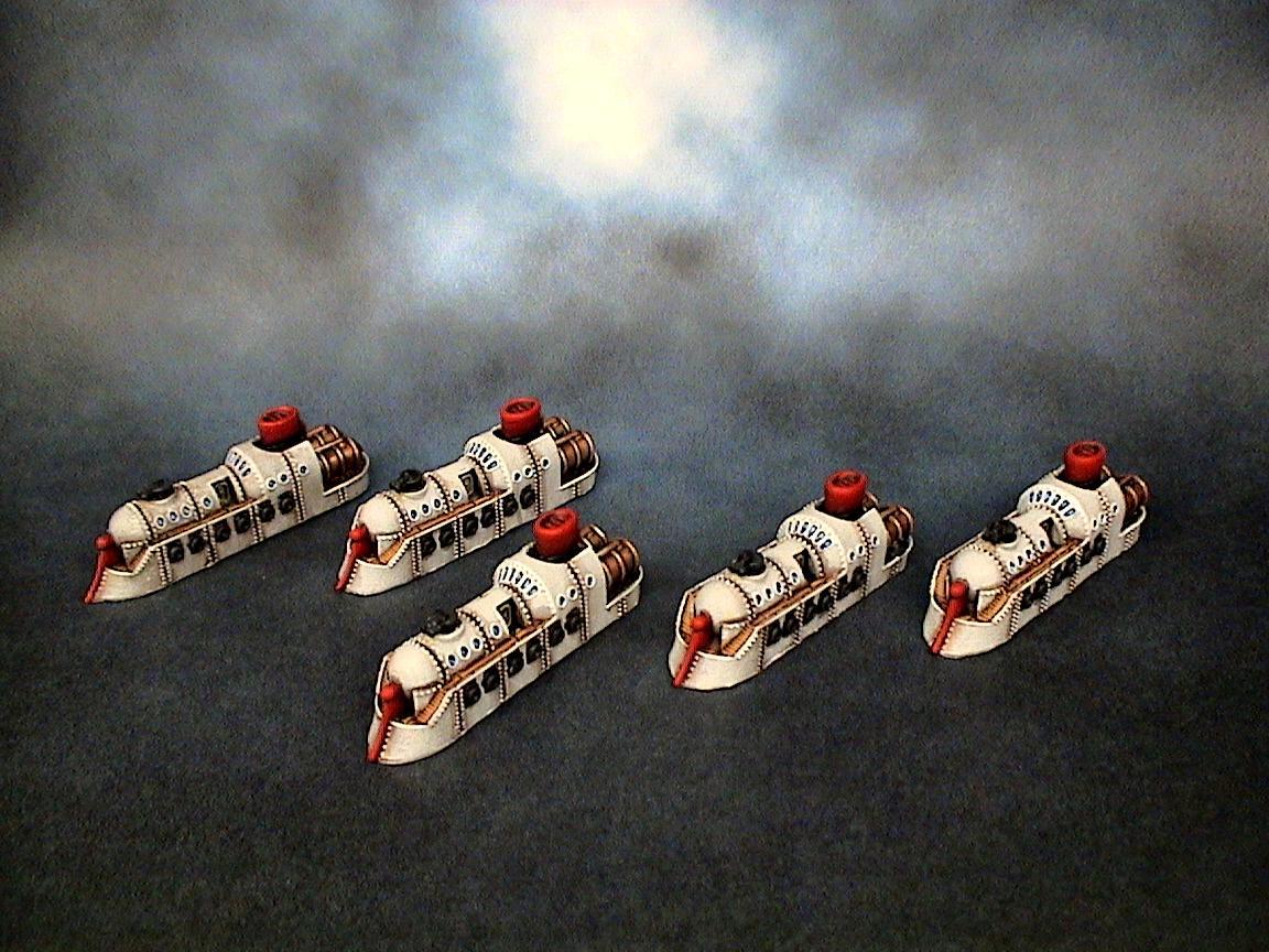 Dystopian Wars, Empire Of The Blazing Sun, Eotbs, Eotbs Frigate, Spartan Games