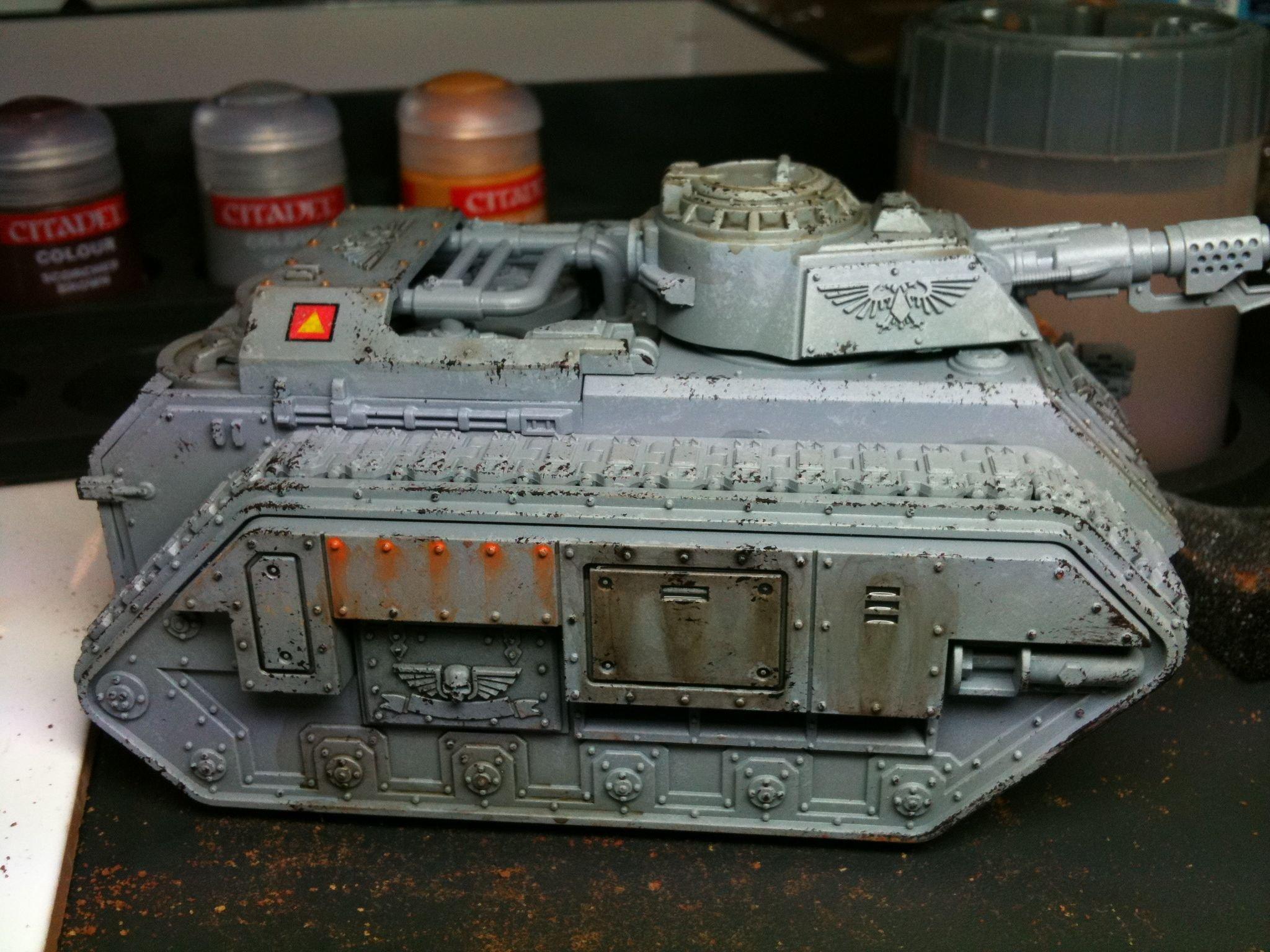 Tank, Tank Masterclass, Weathered