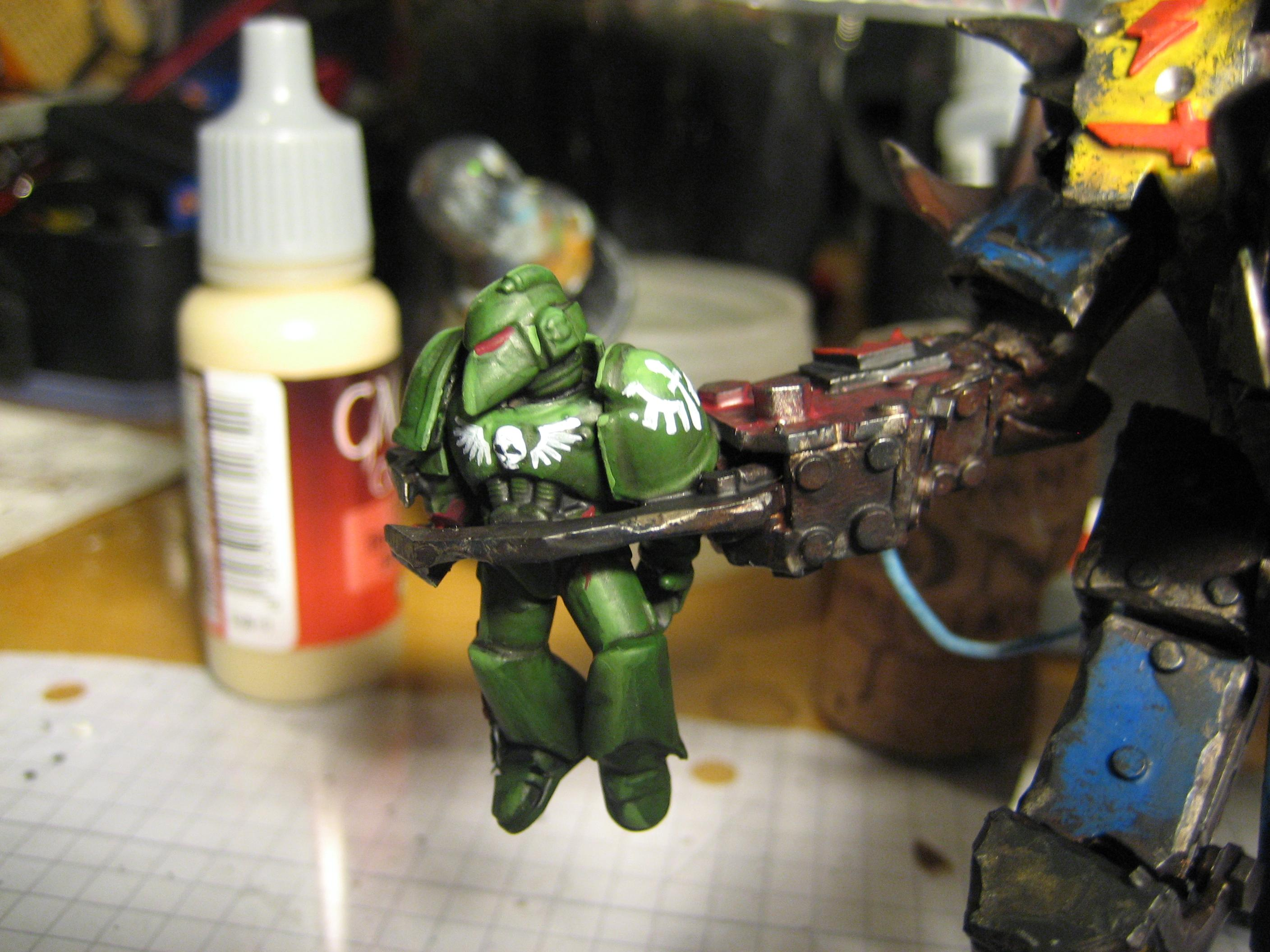 Claw Of Death, Dead Space Marine, Death, Goodbye, Homicide
