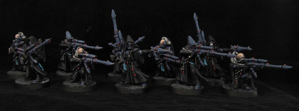 Black, Eldar, Eldar Unit, Rangers, Shadow, Tabletop, Warhammer 40,000