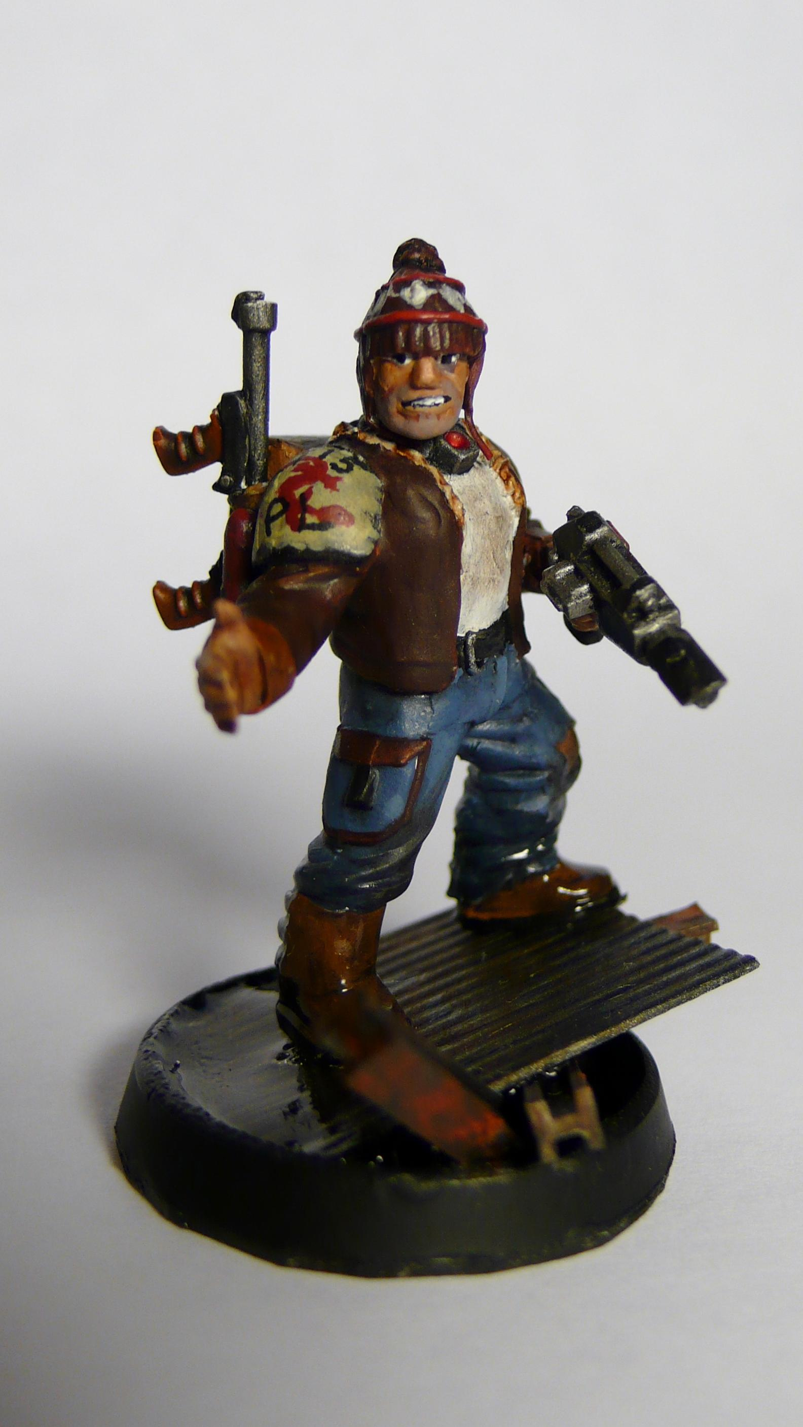 Flamer, Hat, Necromunda, Rust, Smile, Water, Wooly