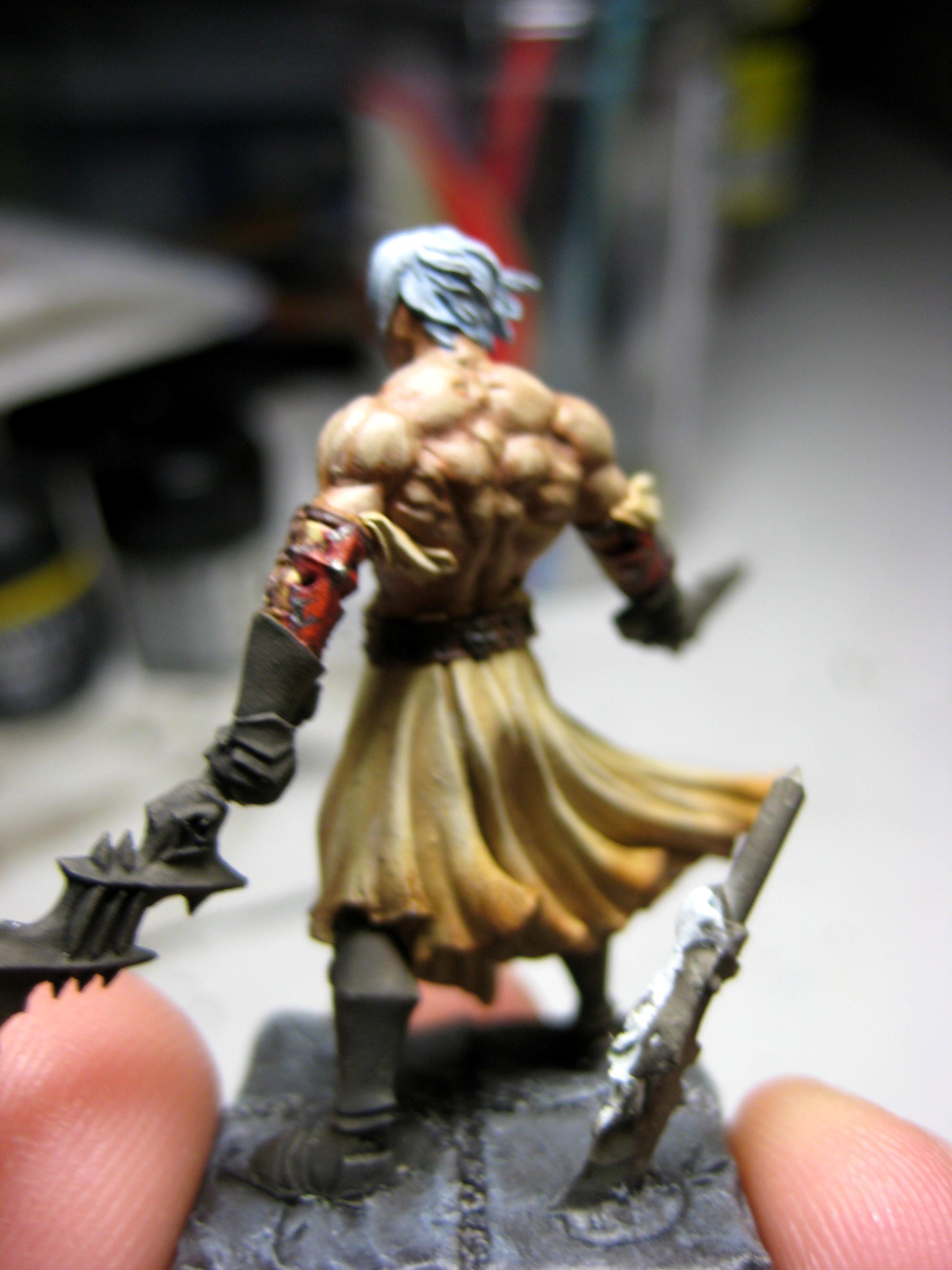 Barbarian, Pip, Warhammer Quest, Work In Progress
