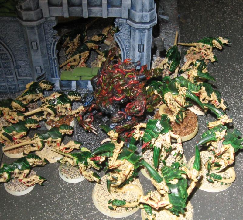 Battle Report, Daemons, Tyranids