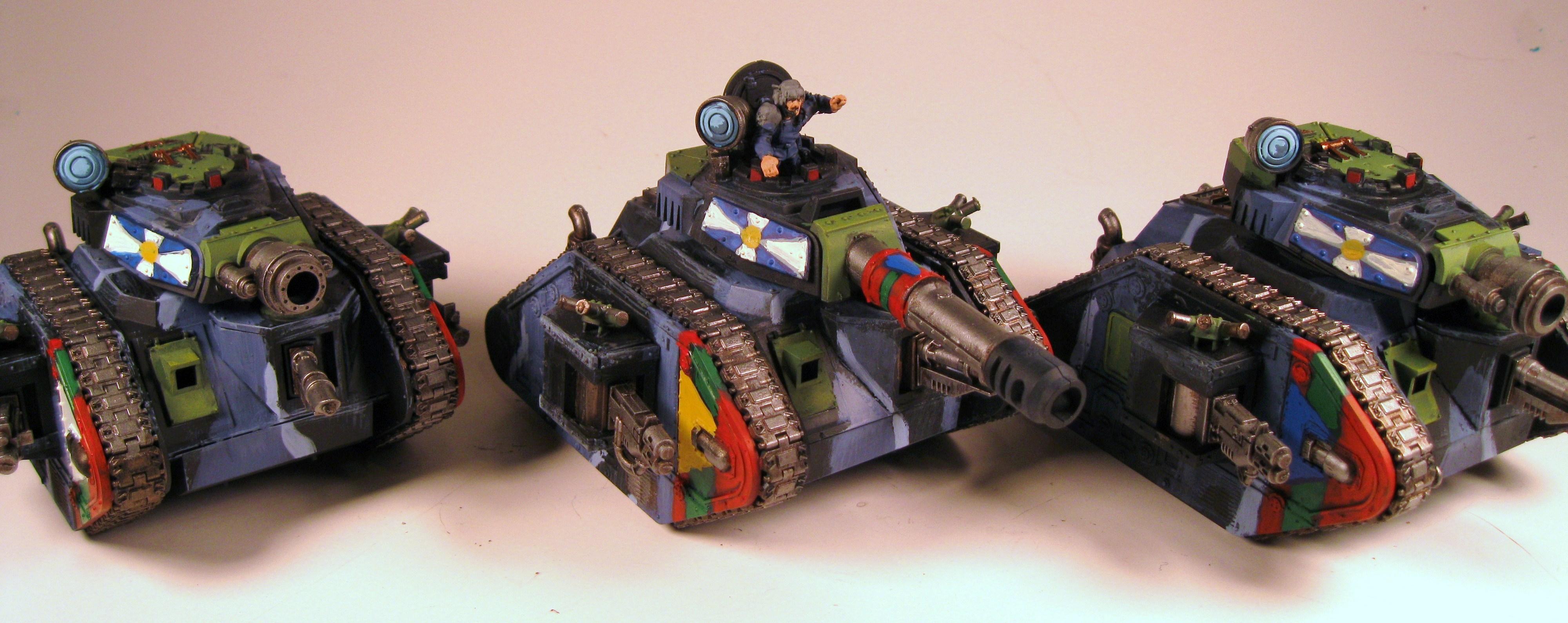 Imperial Guard, Leman Russ, Tank, Warhammer 40,000