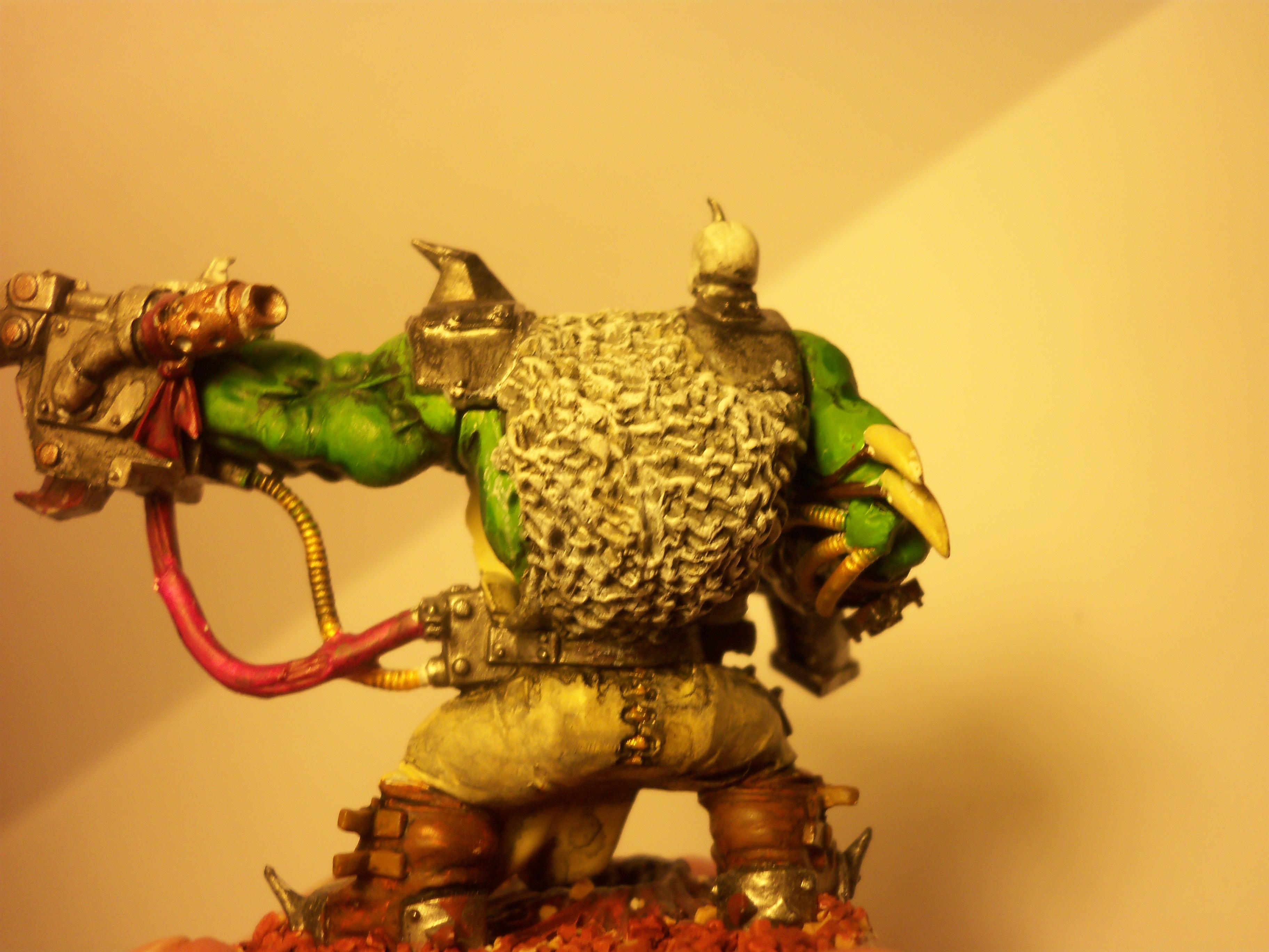 Cloak, Fur, Highlighting, Highlights, Pants, Stitching, Warboss, Wires