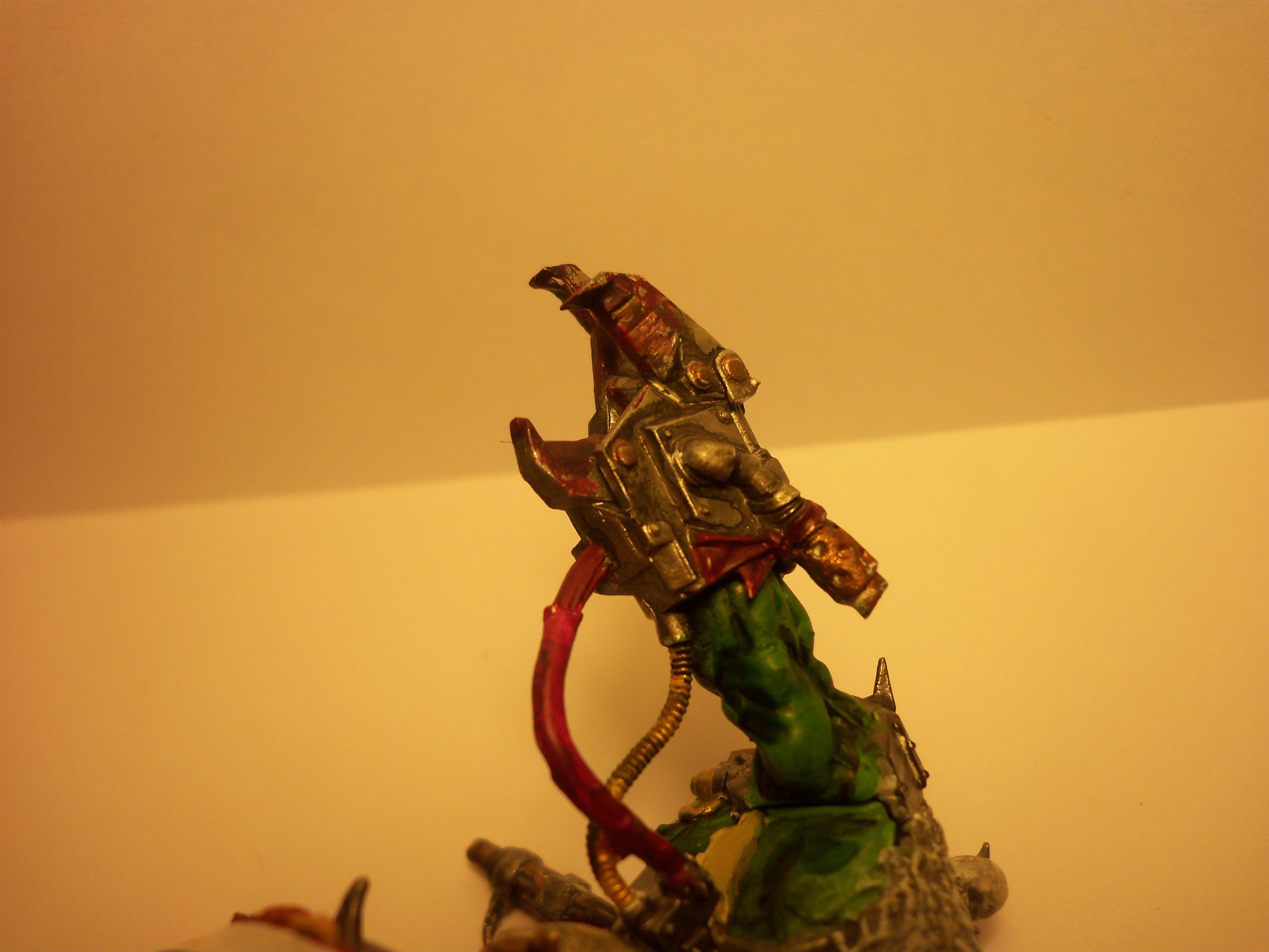 Blood, Power Claw, Warboss, Wires