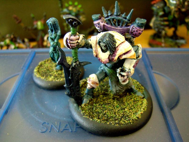 Cryx, Warmachine, Goreshade the Bastard painted by ninjaray - Goreshade the Bastard painted by ...