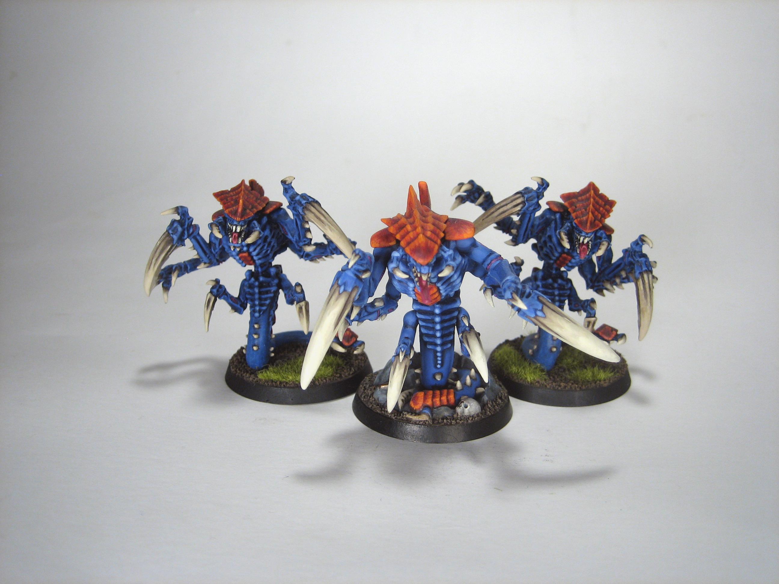 Orange, Ravener, Tyranids, Warhammer 40,000