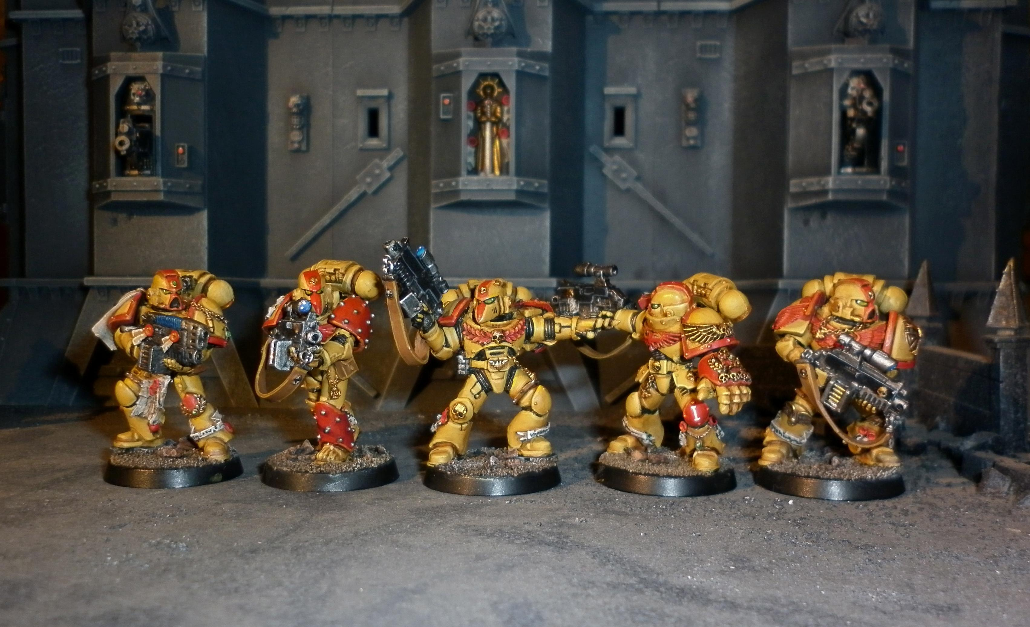 Aphotecary, Command Squad, Hero, Imperial Fists, Space Marines, Veteran