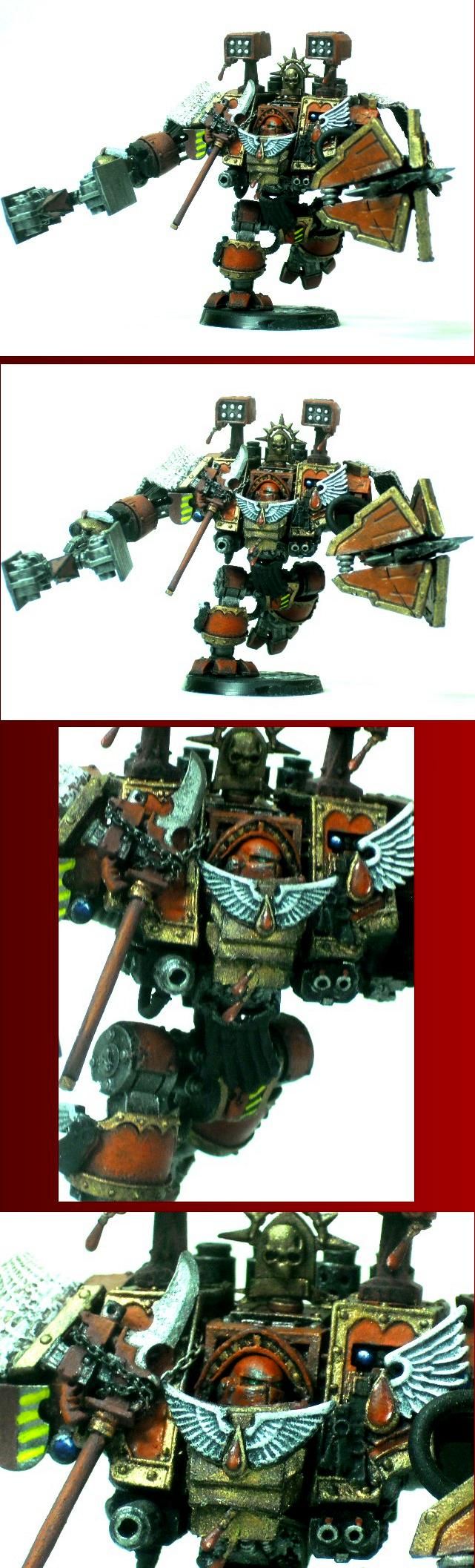 Blood Angels, Dreadnought, Space Marines, Venerable