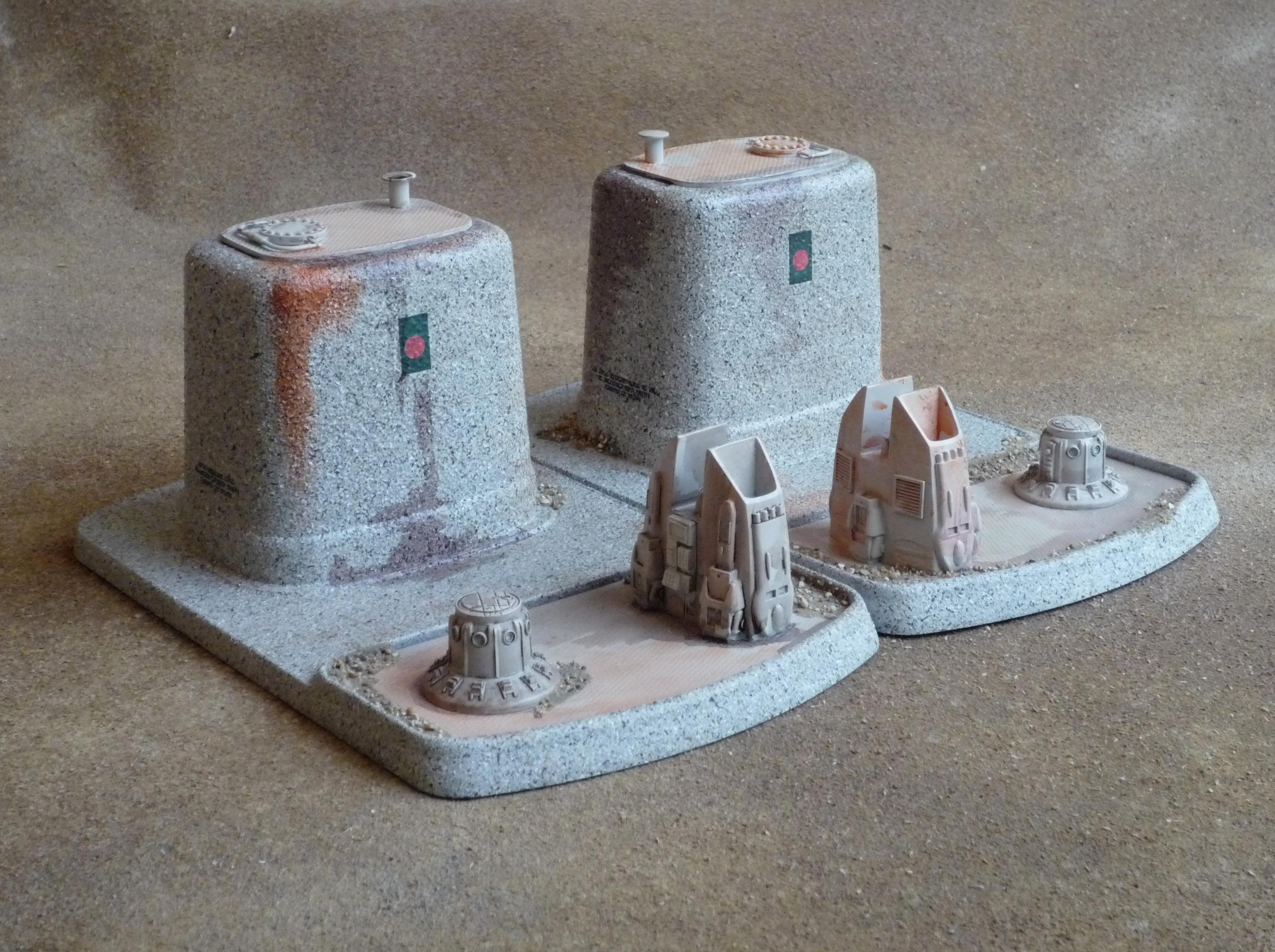 Buildings, Tau, Terrain, Warhammer 40,000