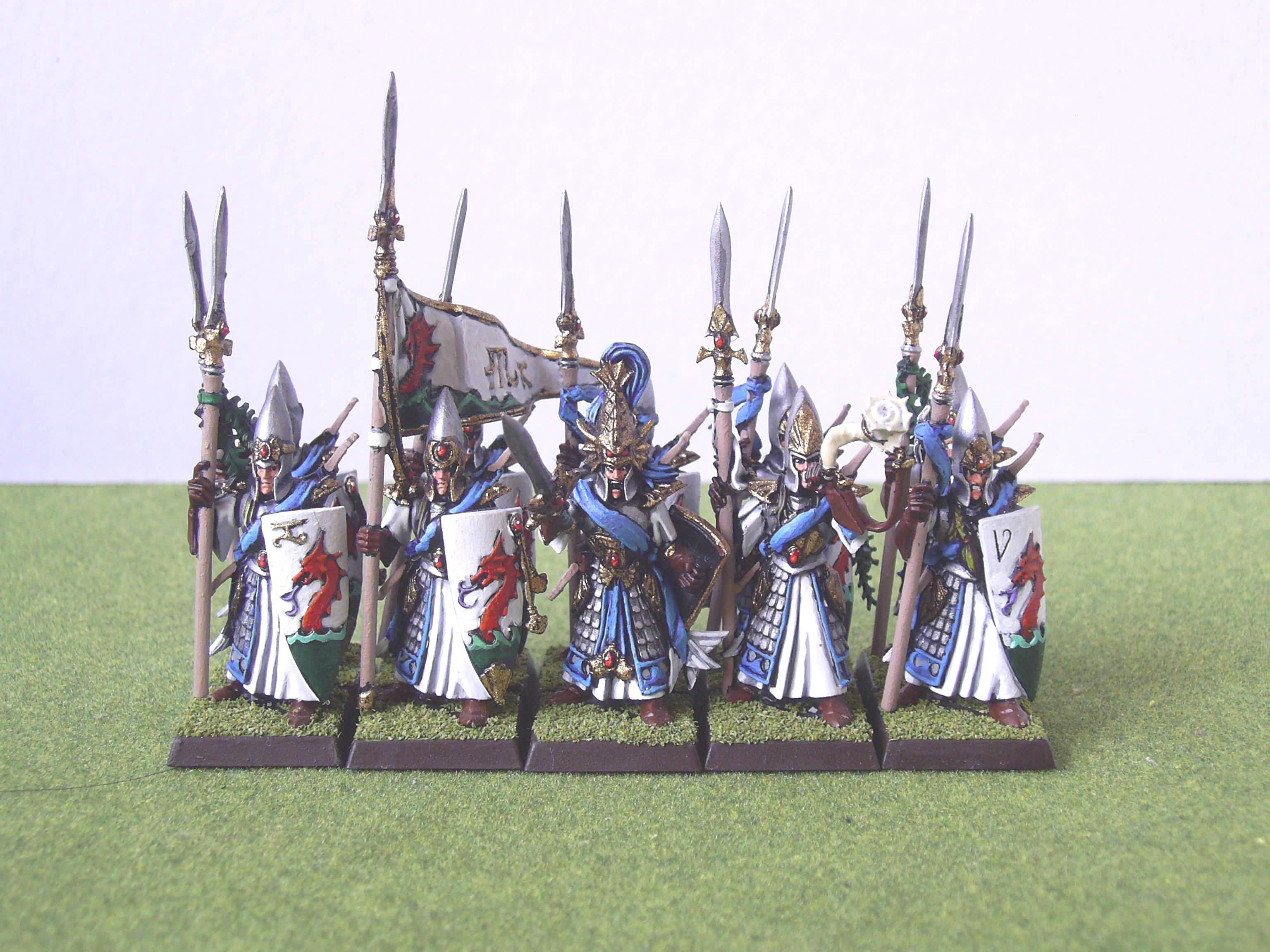 Elves, High Elves, Island Of Blood, Traditional Scheme, Warhammer Fantasy