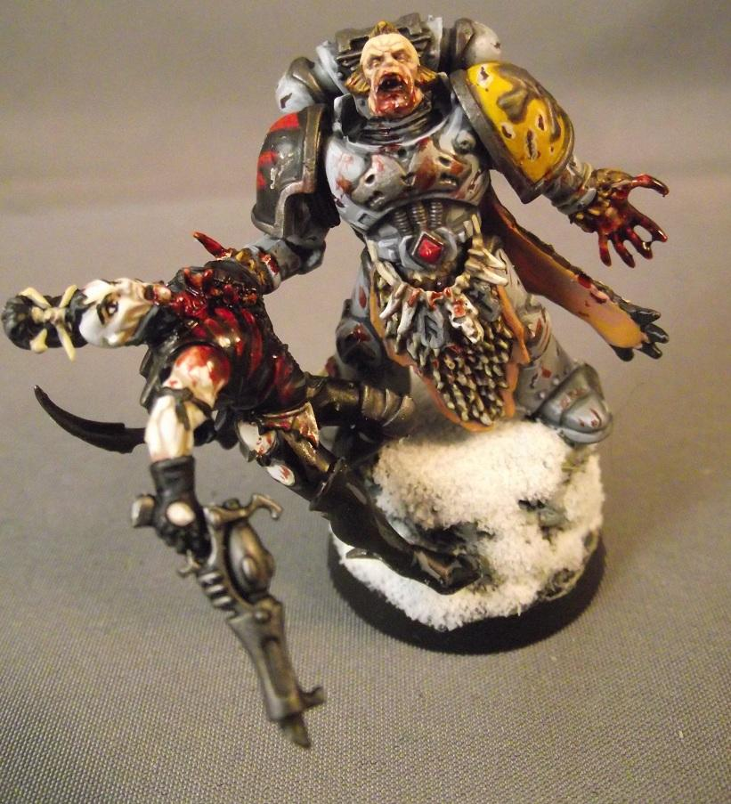 Conversion, Eldar Abuse, Space Wolves, Warhammer 40,000, Wulfen