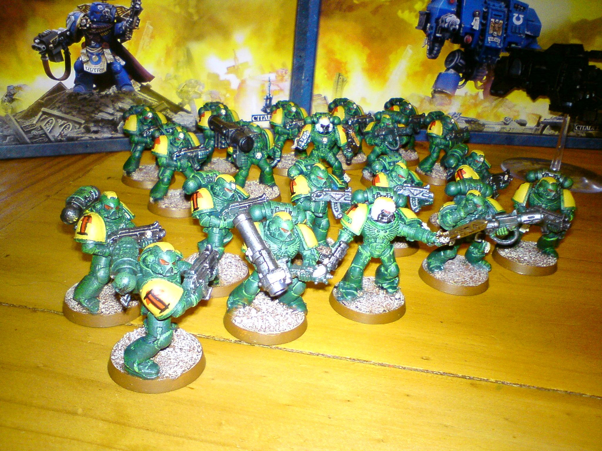 Ahazra, Mantis, Redth, Space Marines