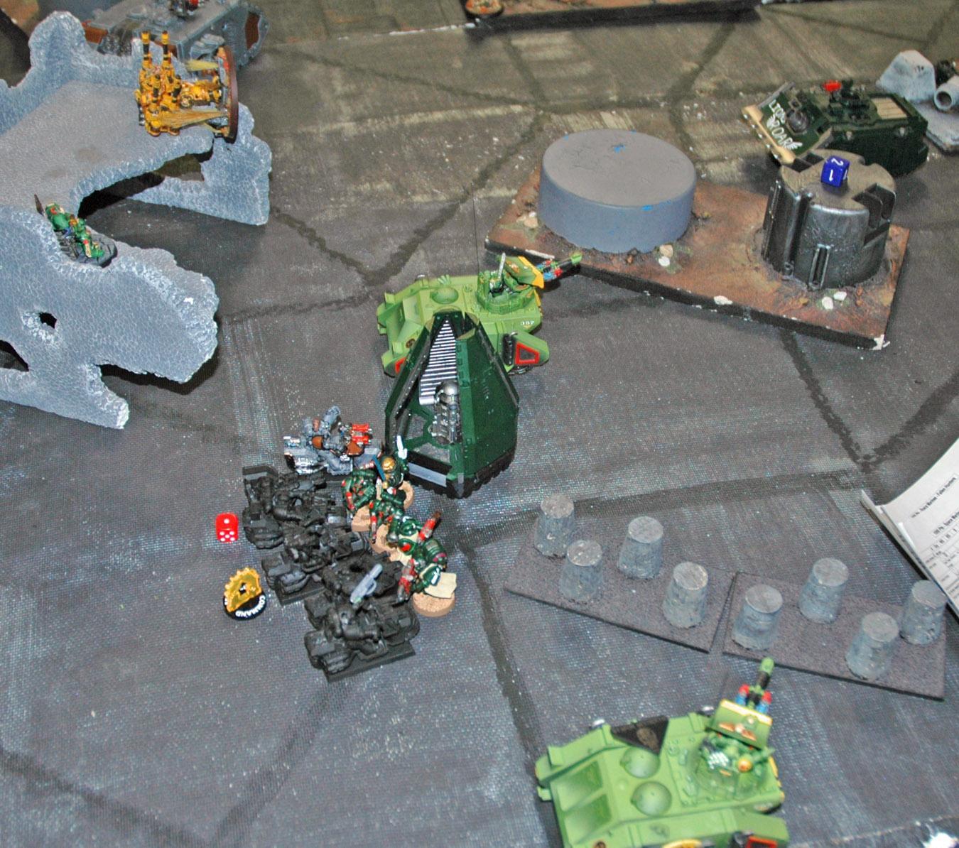 Mantis Warriors, Warhammer 40,000