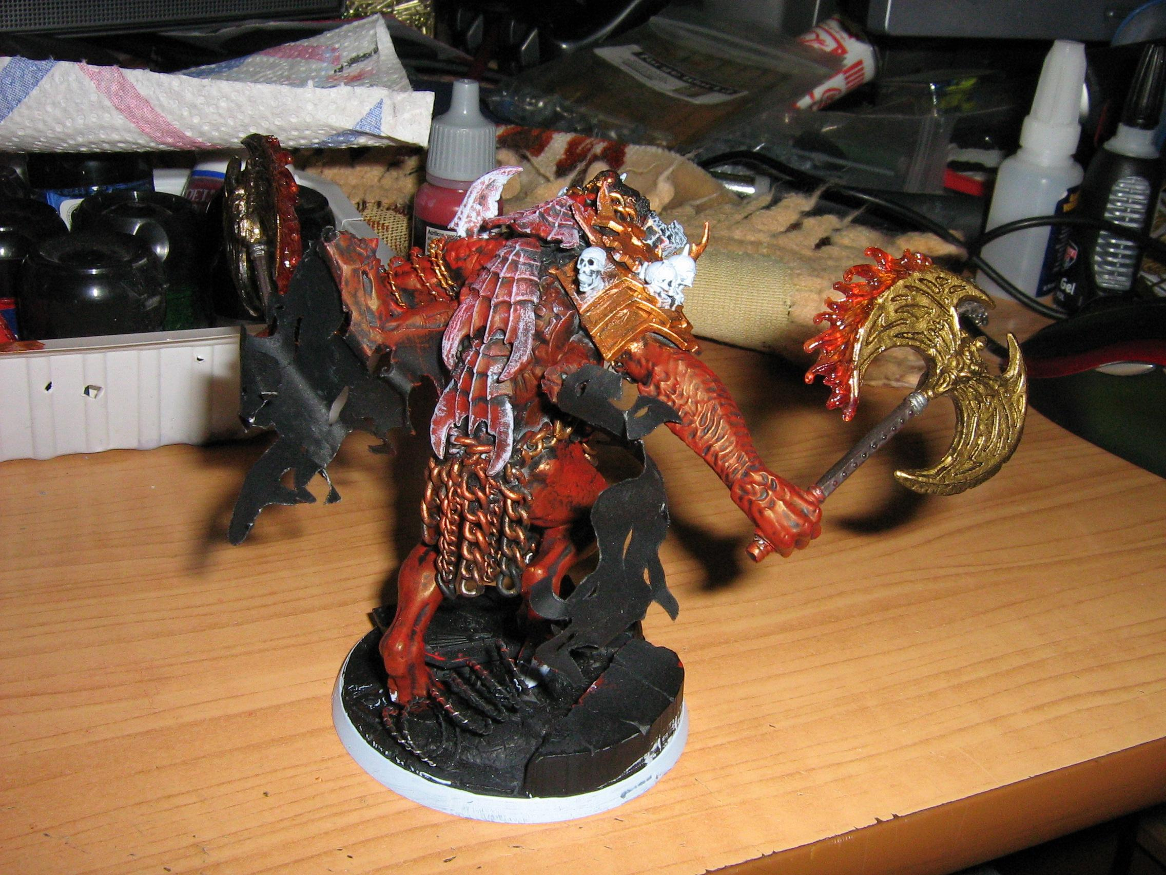 Chaos, Daemons, Greater Deamon, Khorne
