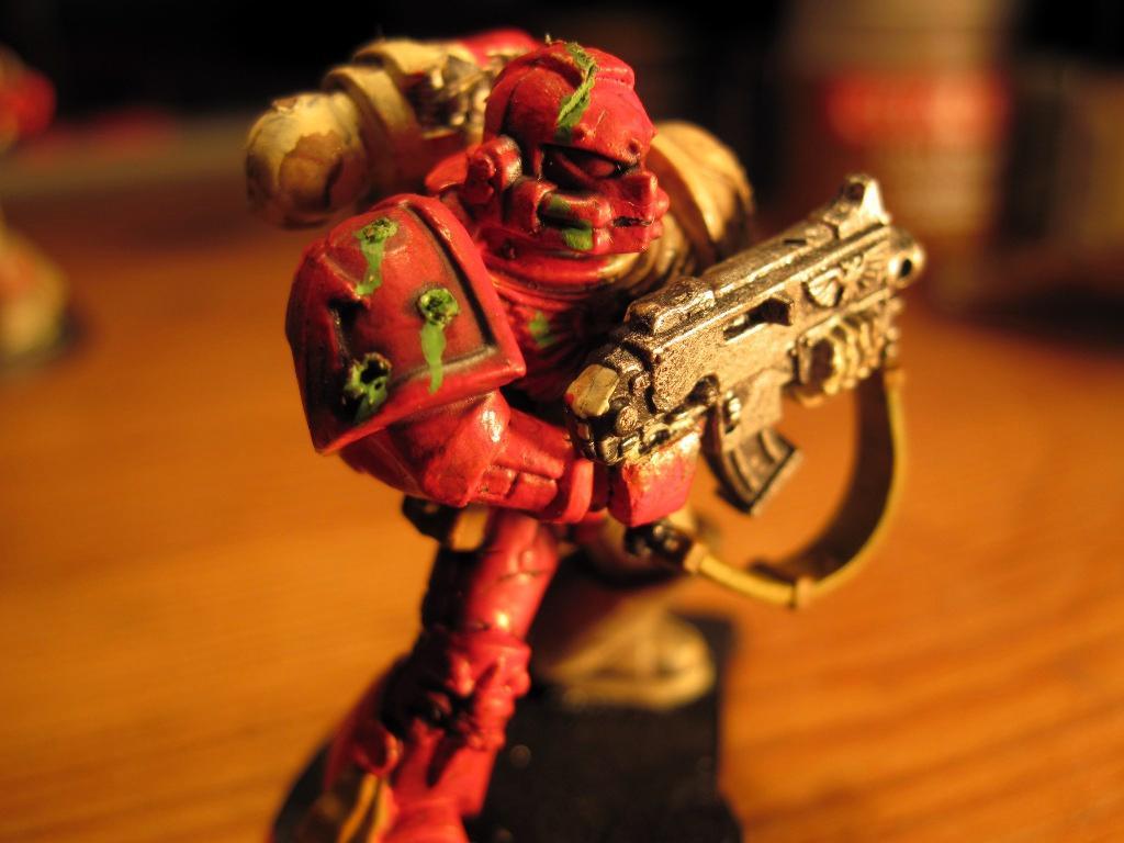 Bio Acid, Bio Acid Weathering, Marina, Space Marines, Tactical Squad