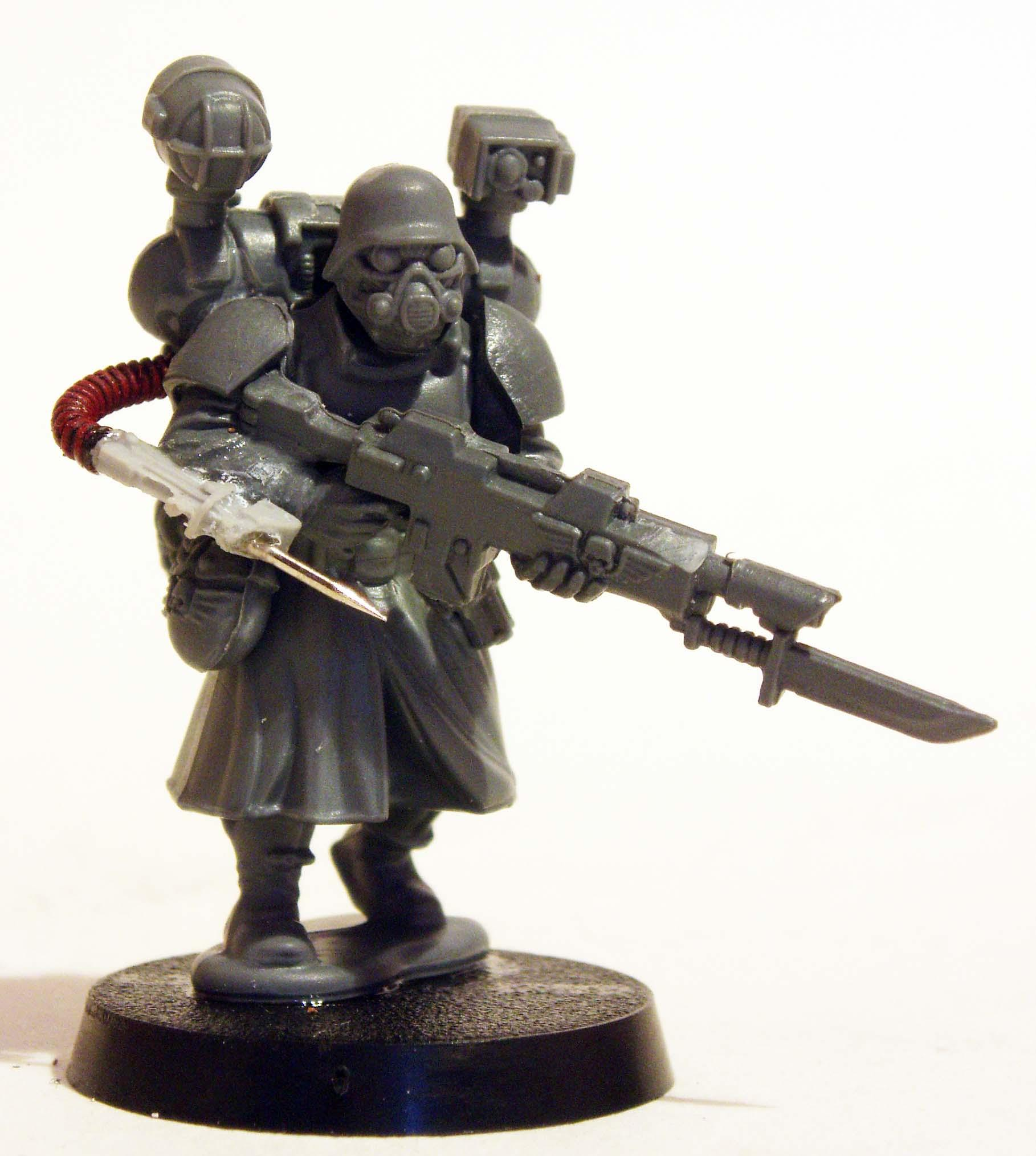 Great Coat, Imperial Guard, Lost And The Damned, Traitor, Wargames Factory